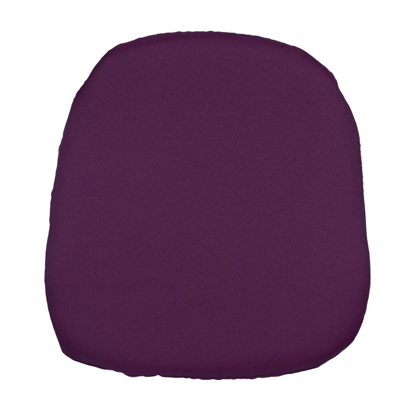 Poly Seat Cushion - Plum