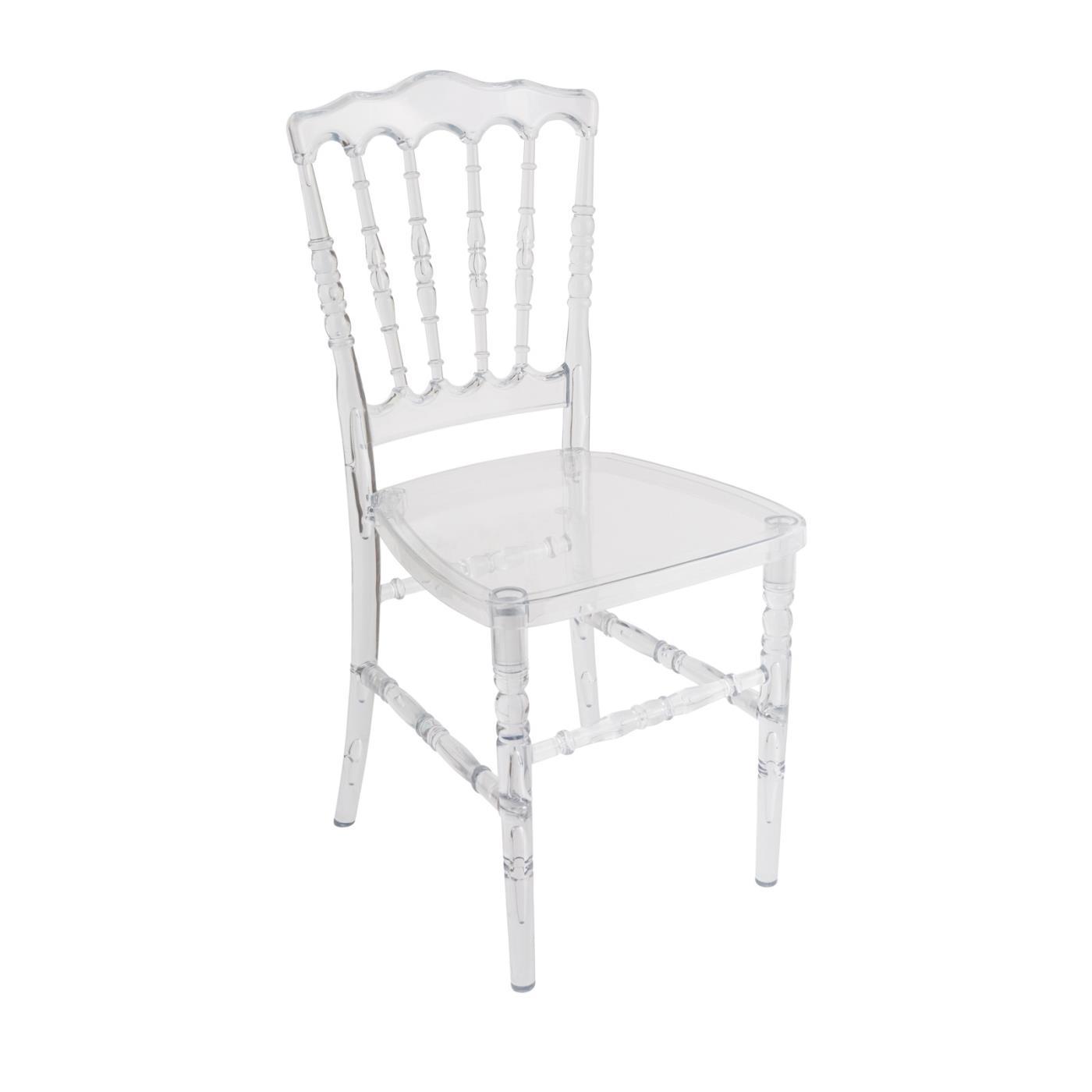 Clear Chateau Chair