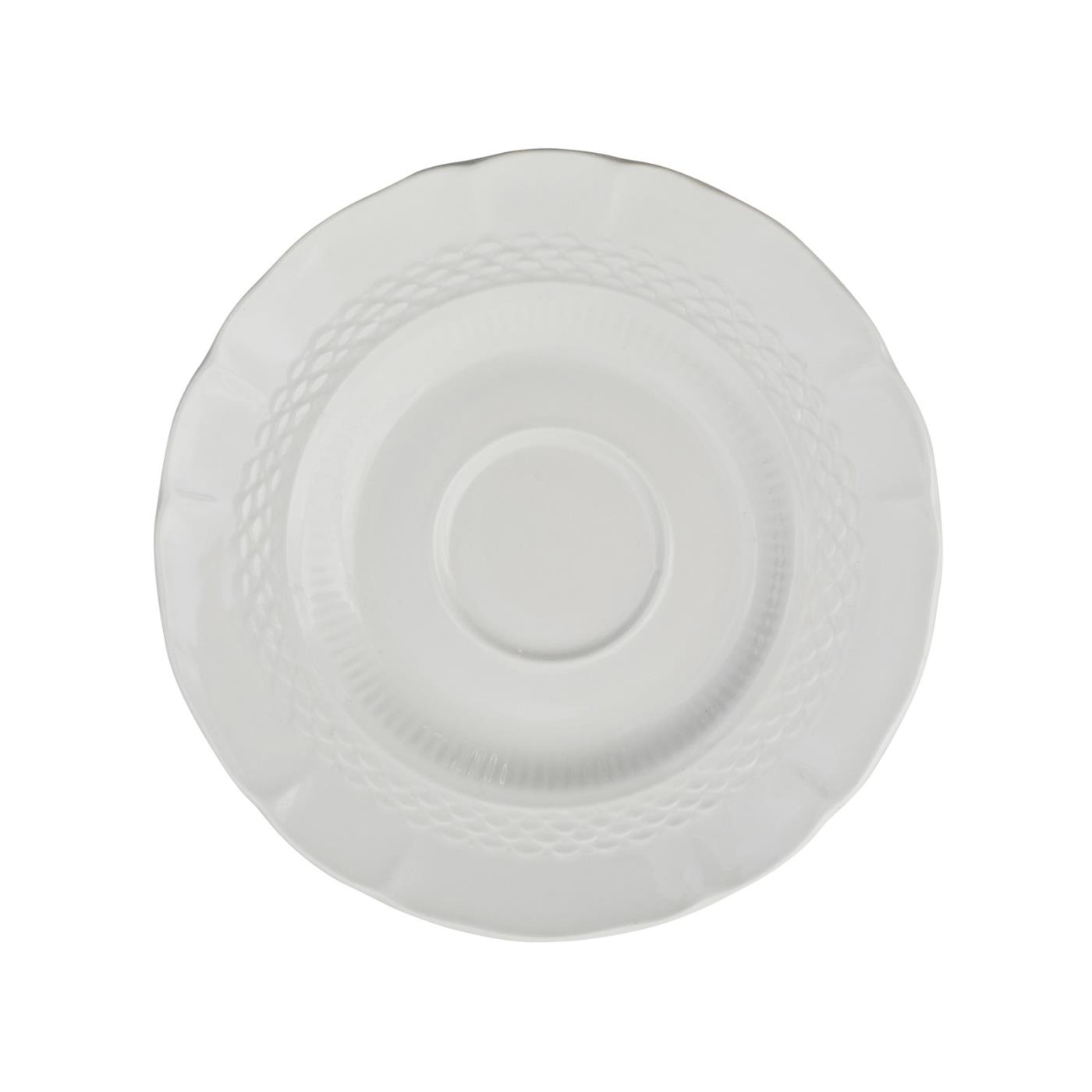 Angela Collection -  Saucer 6.5""