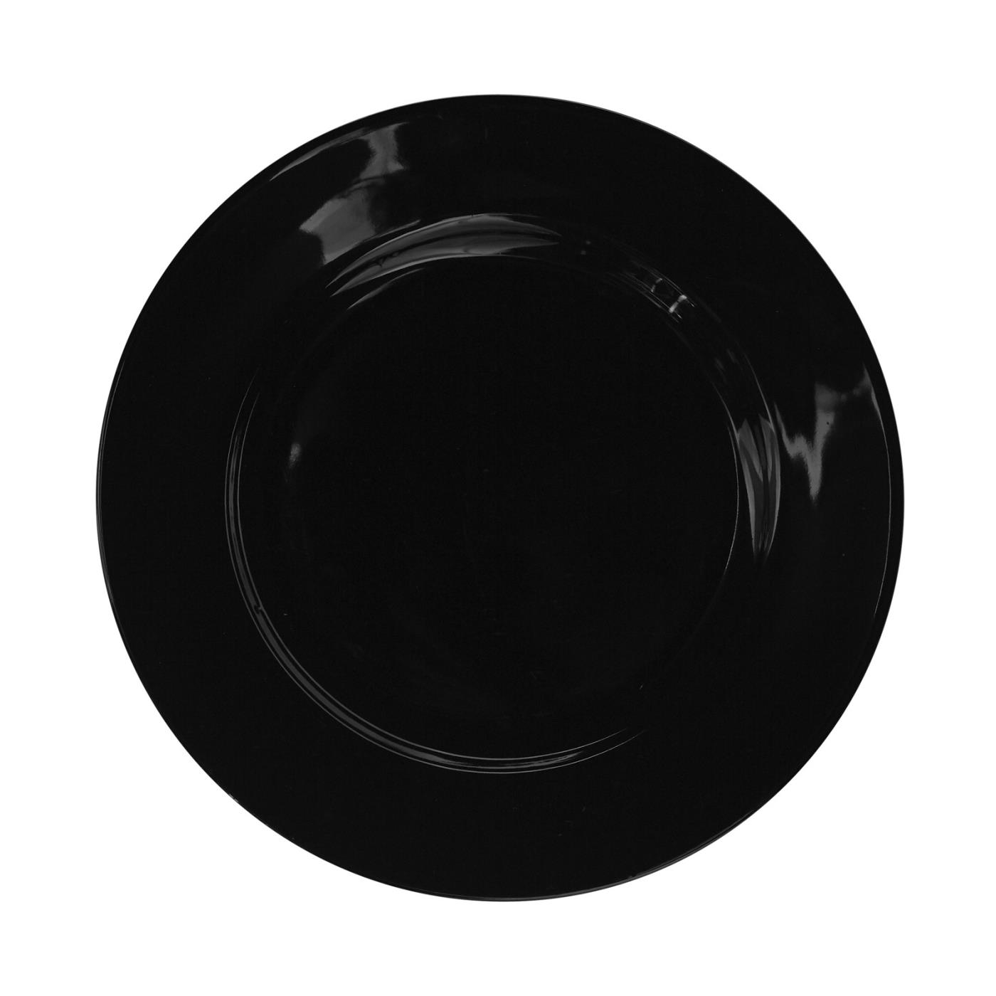 Black Rim Collection -  B&B Plate 6.75""