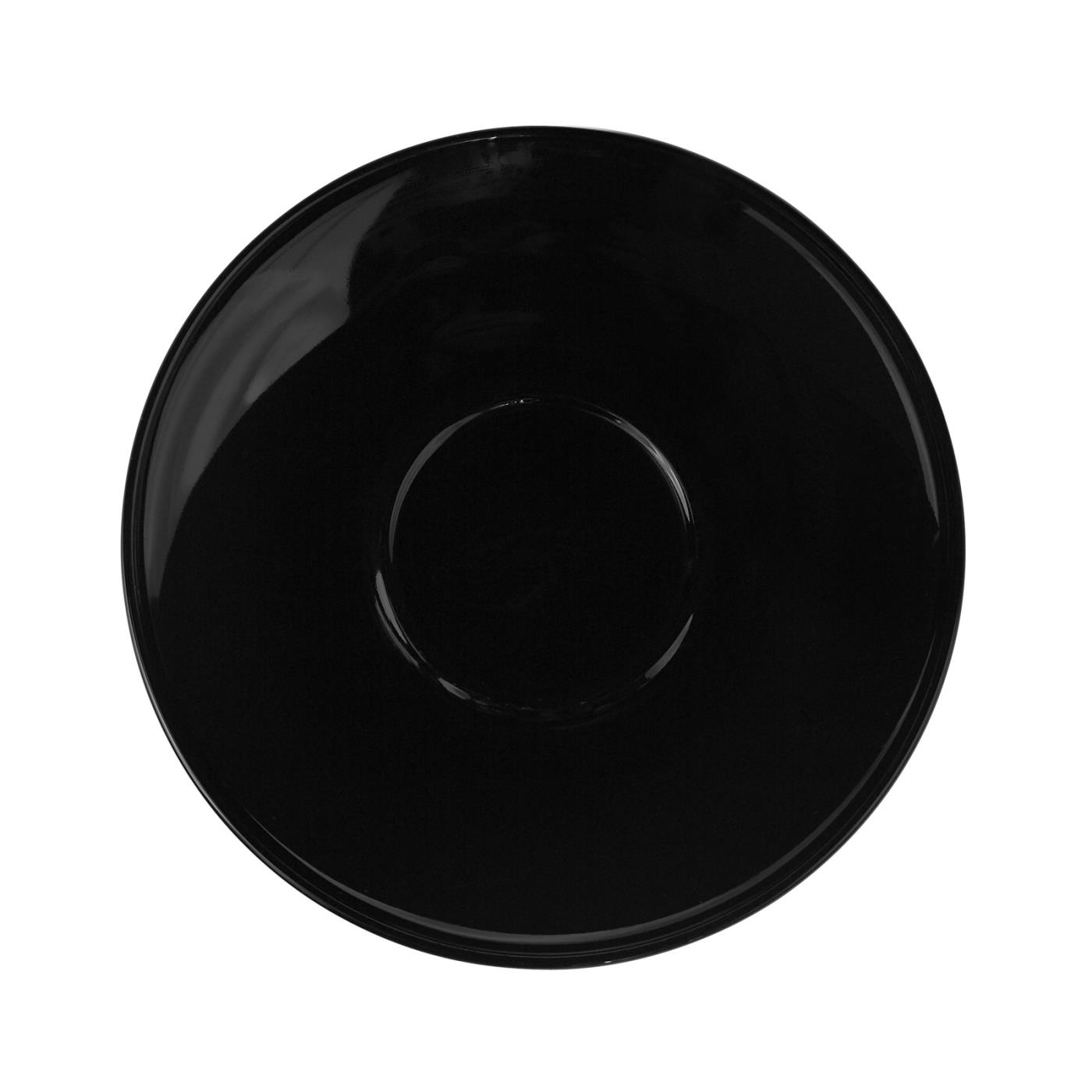 Black Rim Collection -  Saucer 6.5""