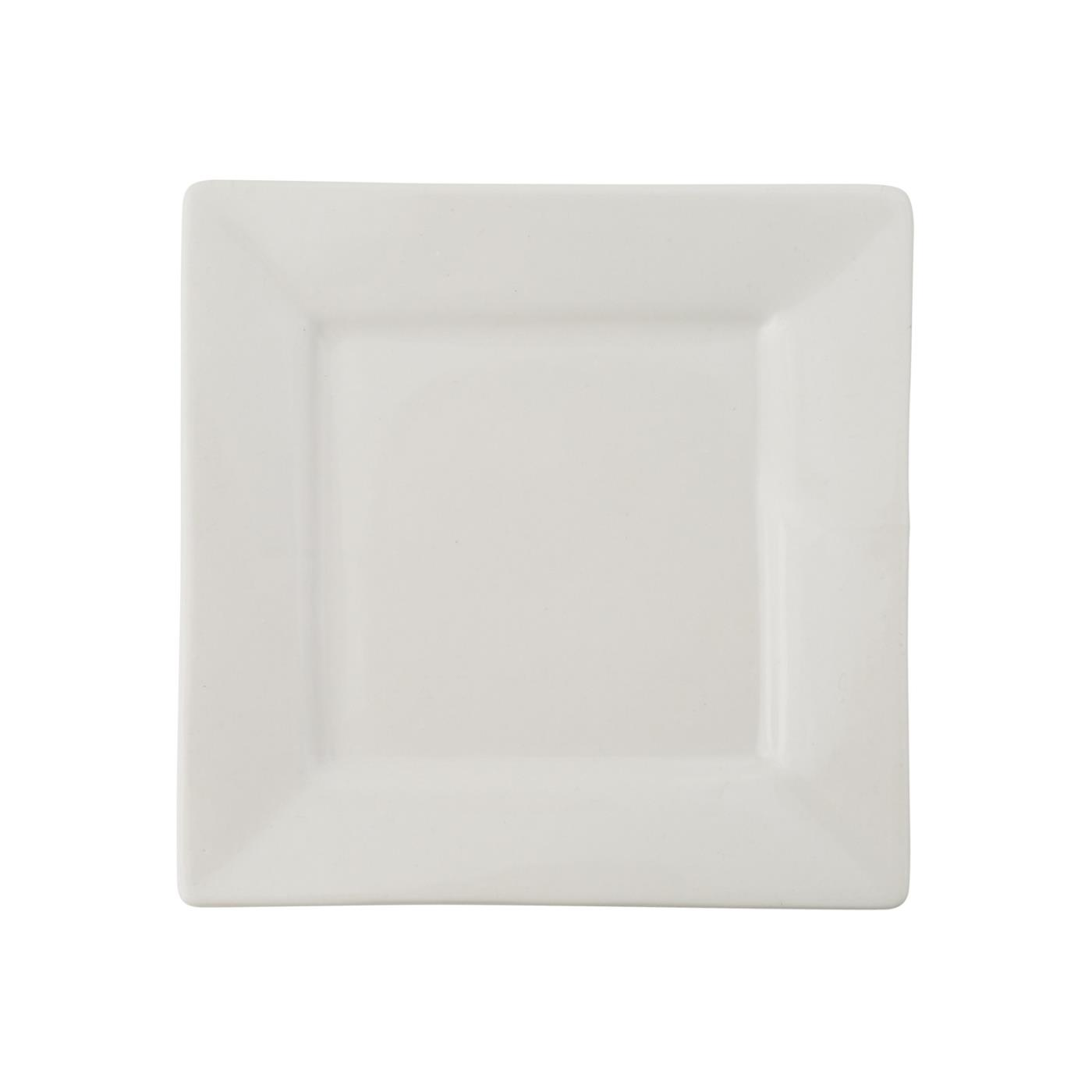White Square Collection -  B&B Plate 6.5""