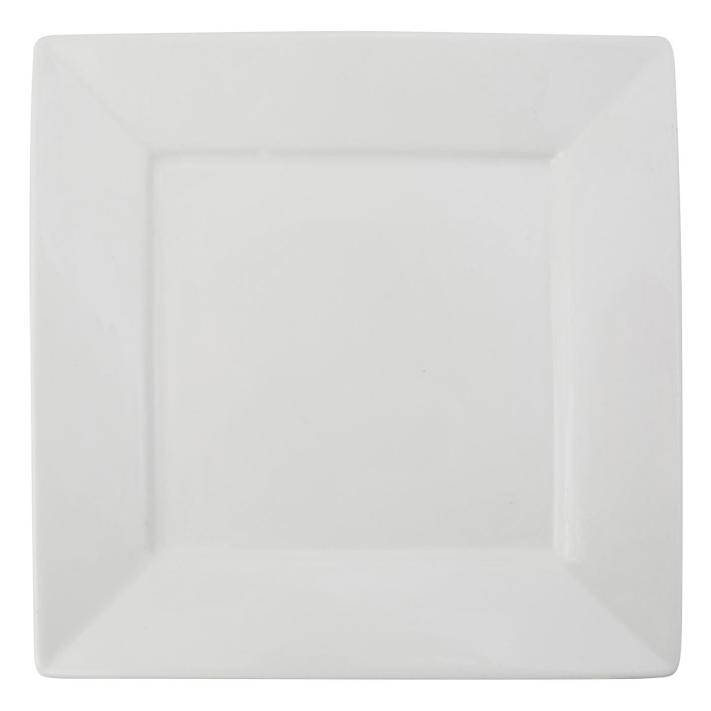 White Square Collection -  Charger 12""