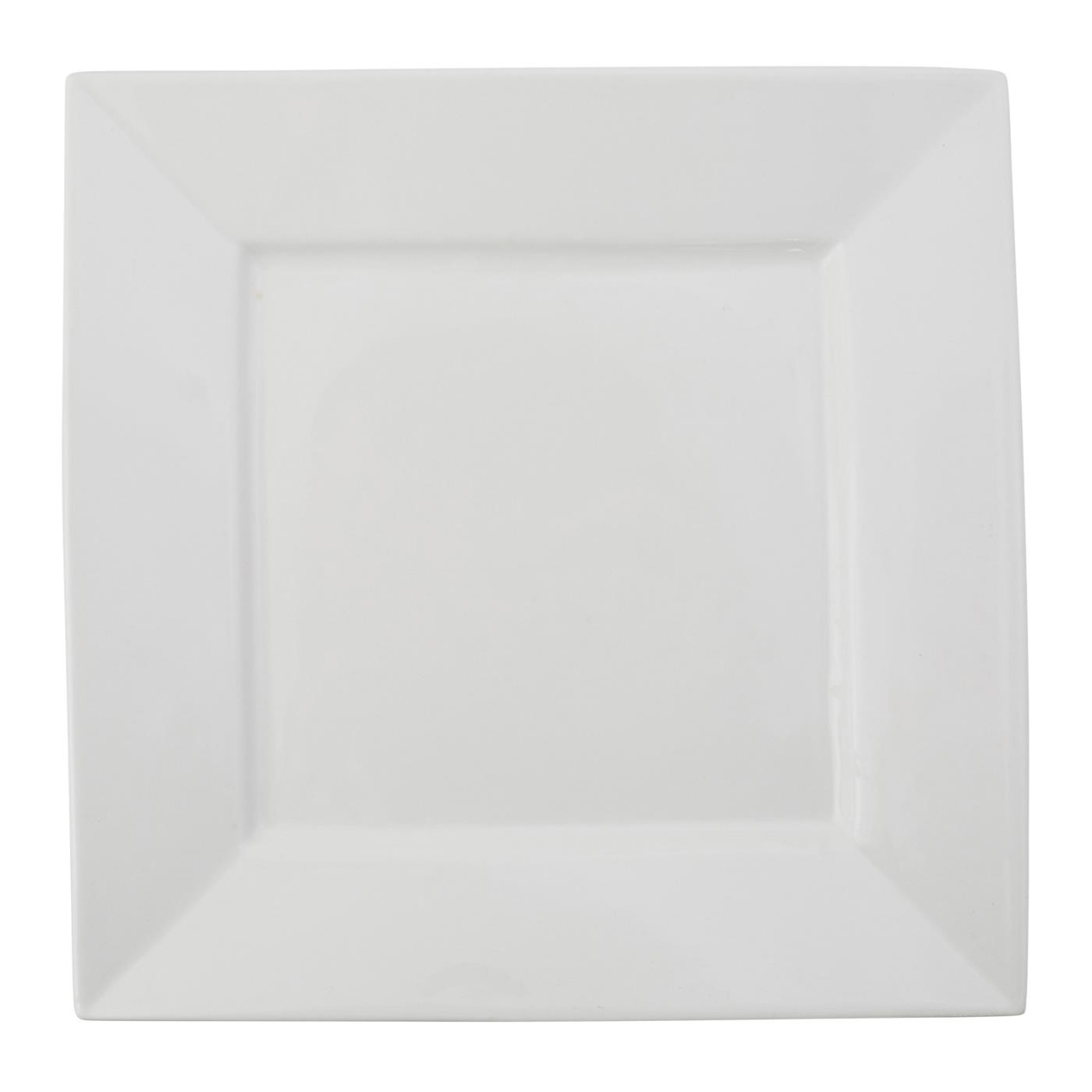 White Square Collection -  Dinner Plate 10""