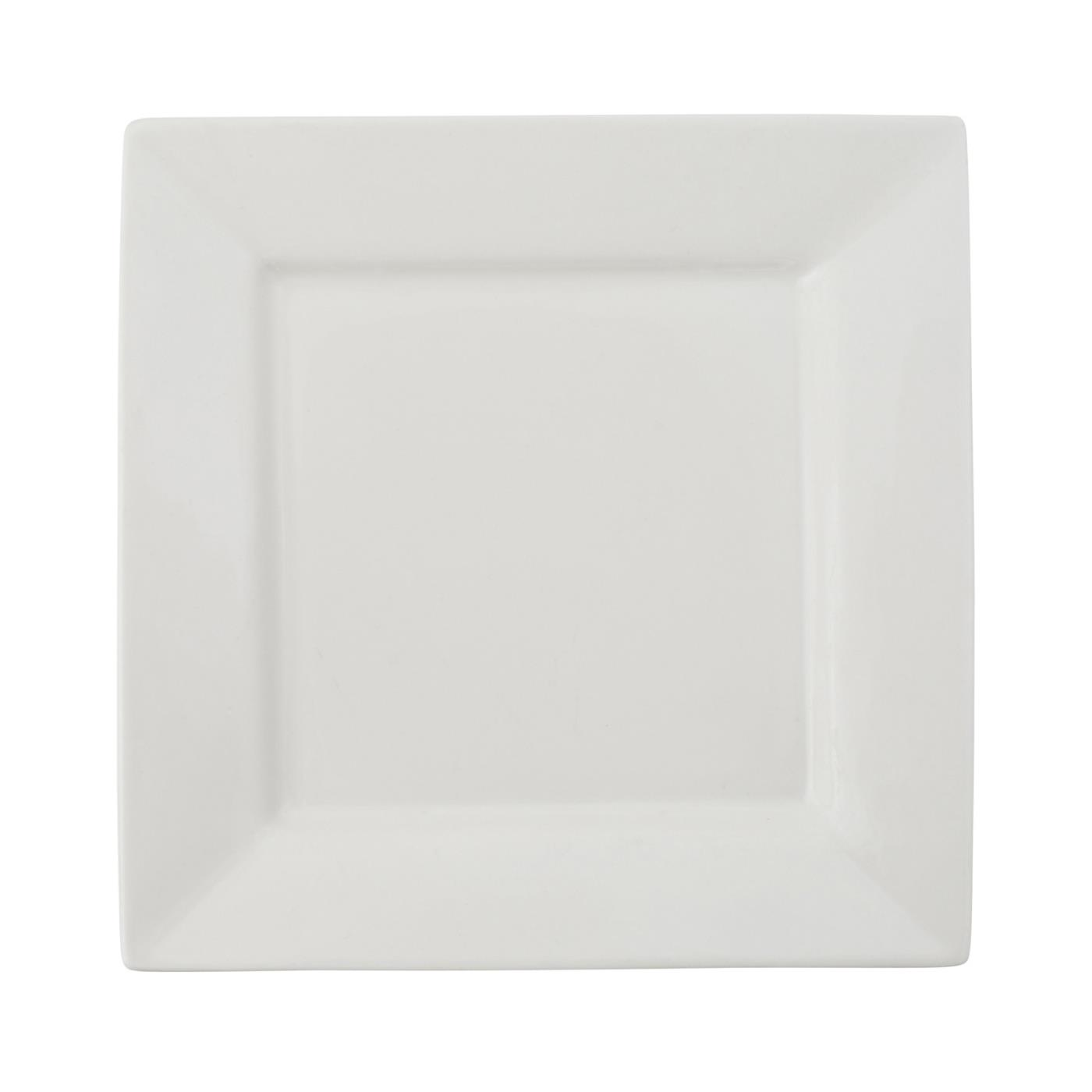 White Square Collection -  Lunch Plate 9""