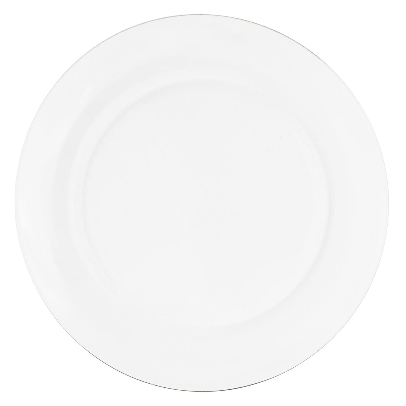 Clear Glass Collection -  Dinner Plate 10.25""