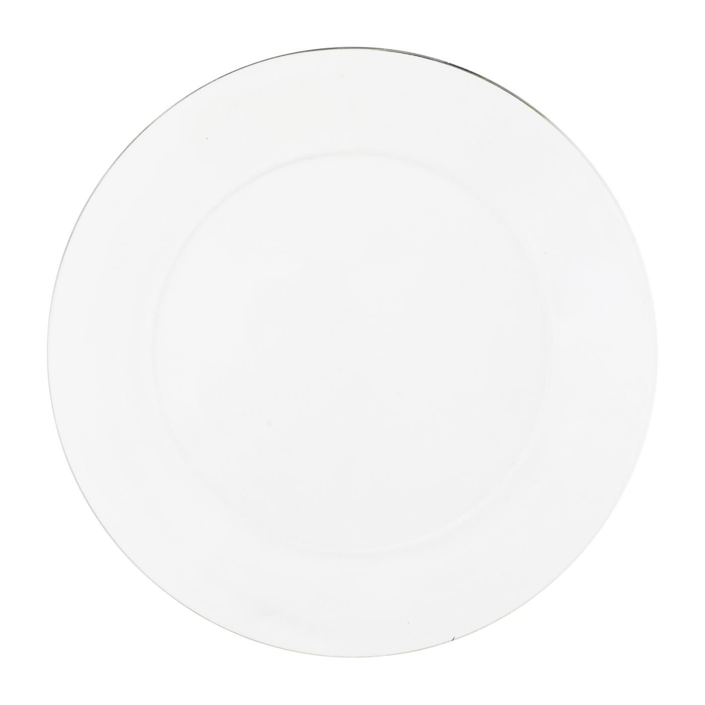 Clear Glass Collection -  Lunch Plate 9""