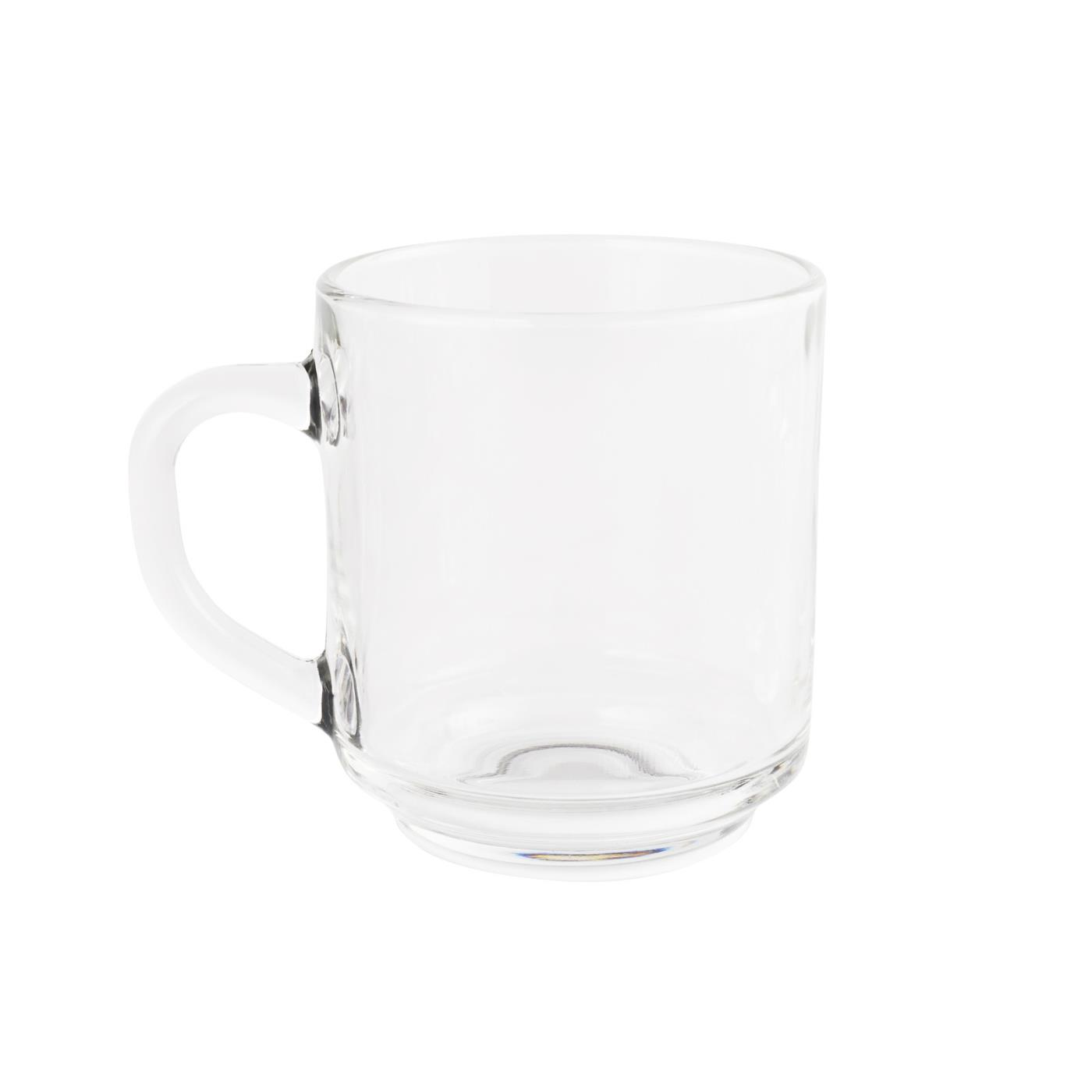 Clear Glass Collection -  Mug