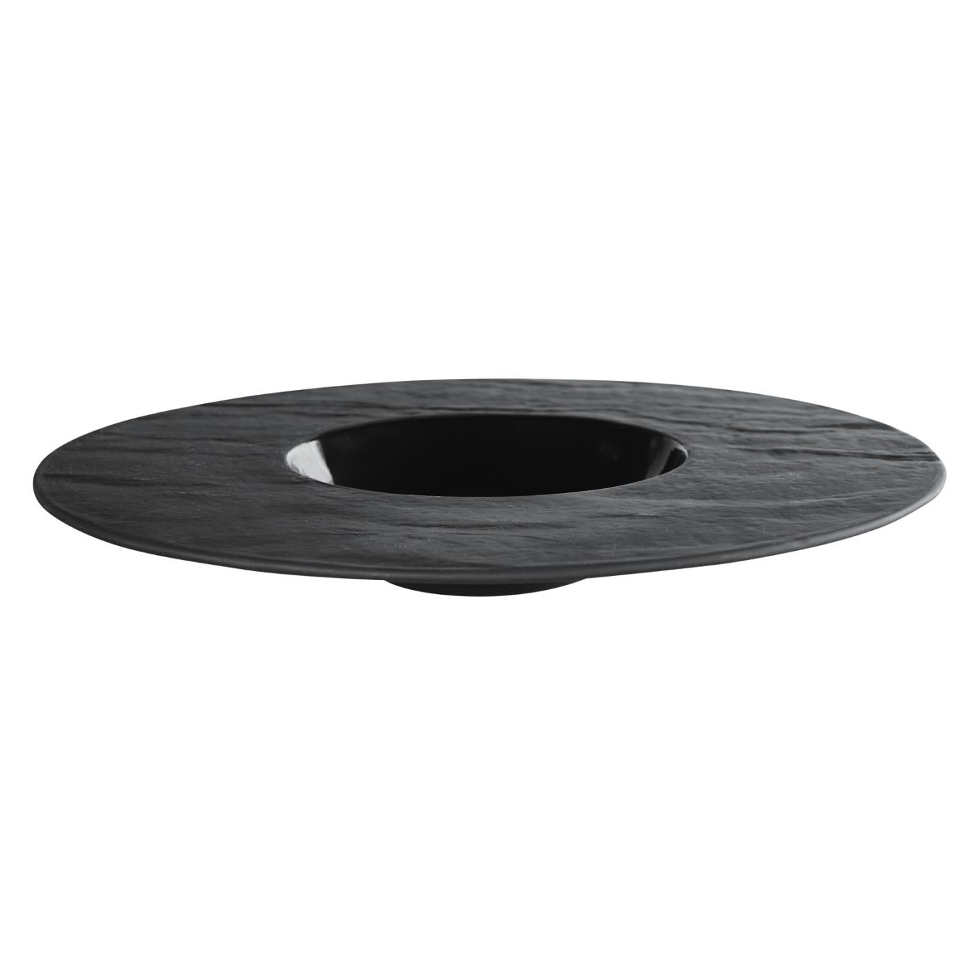 Wide Rim Slate Bowl 11