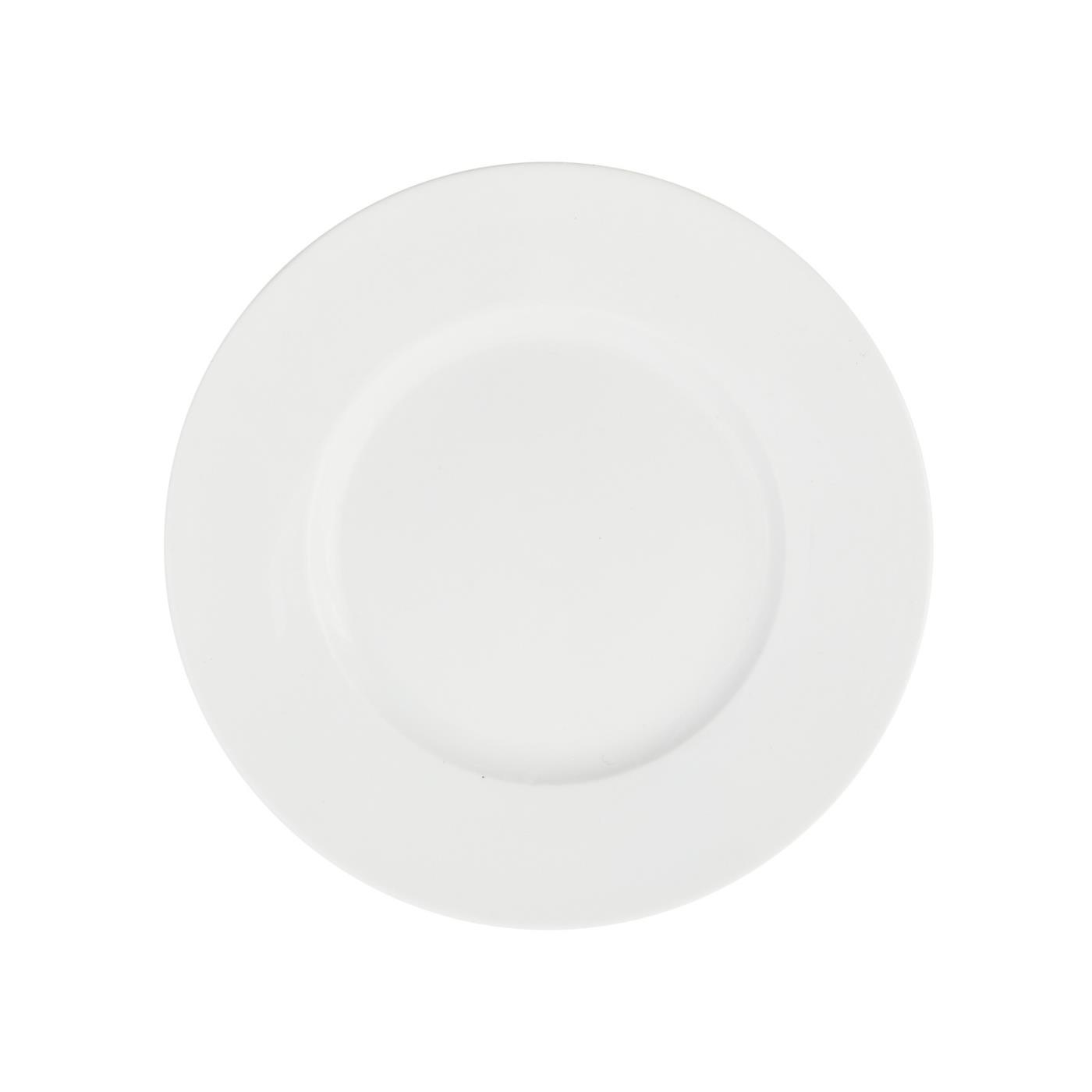 """White Monaco - B&B Plate 6.5"""""""