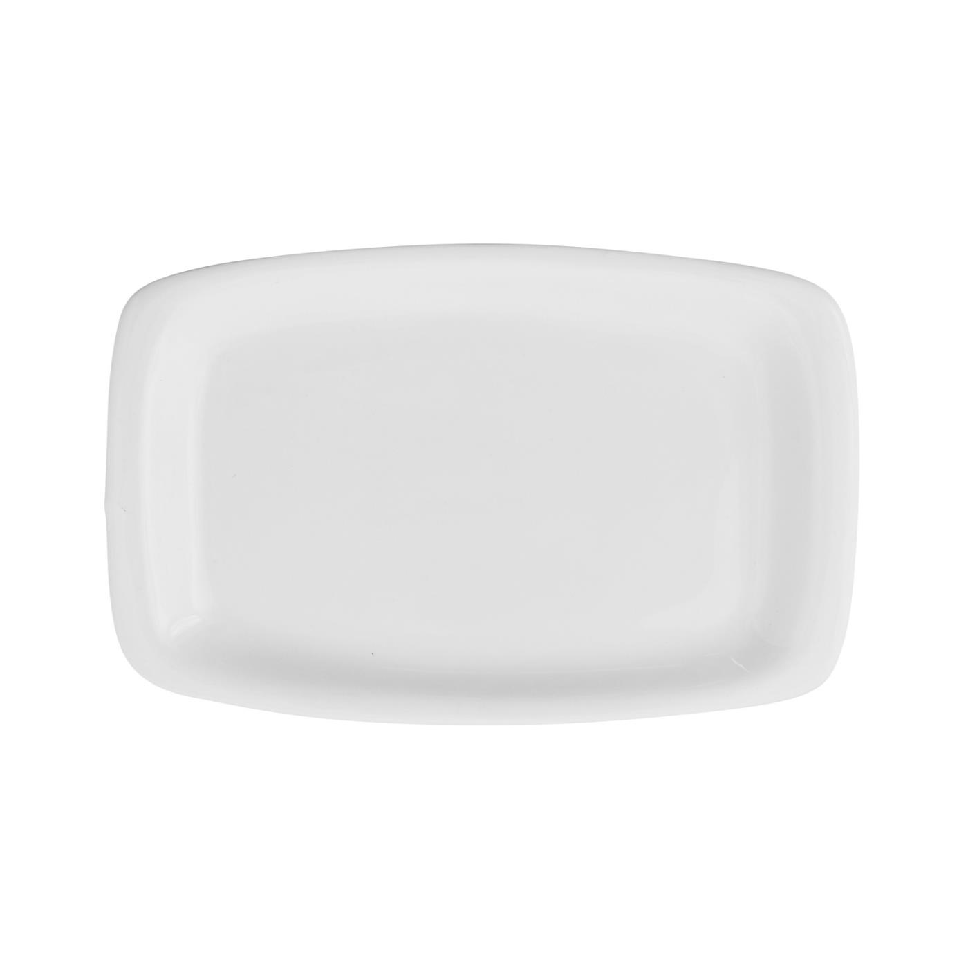 "White Rectangular -  5.5"" x 8.5"" Rounded Corners"
