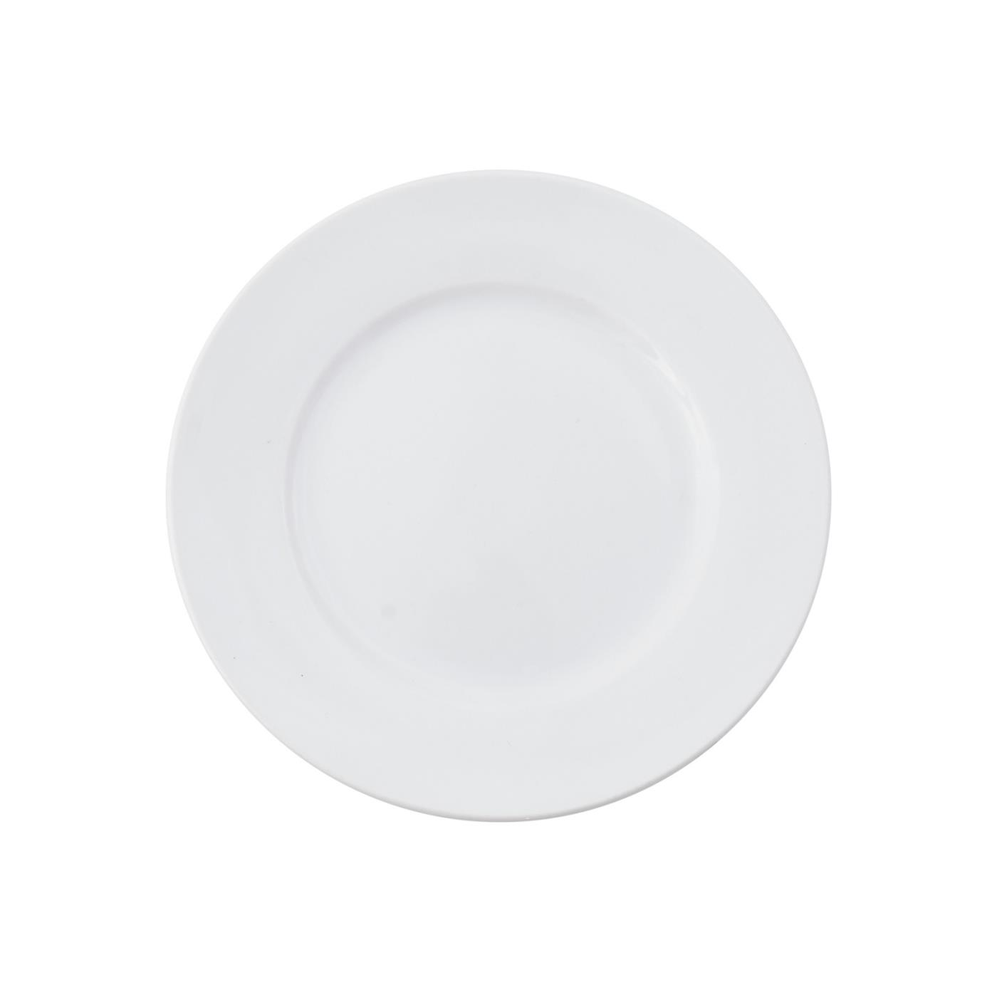 White Rim Collection -  B&B Plate 6.25""