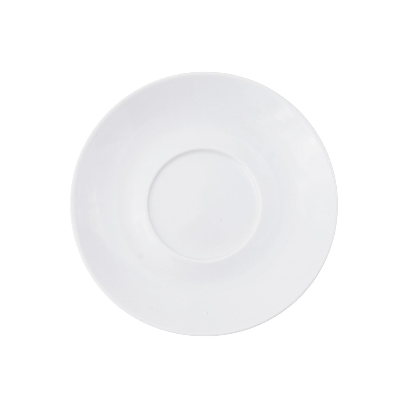 White Rim Collection -  Saucer 6""