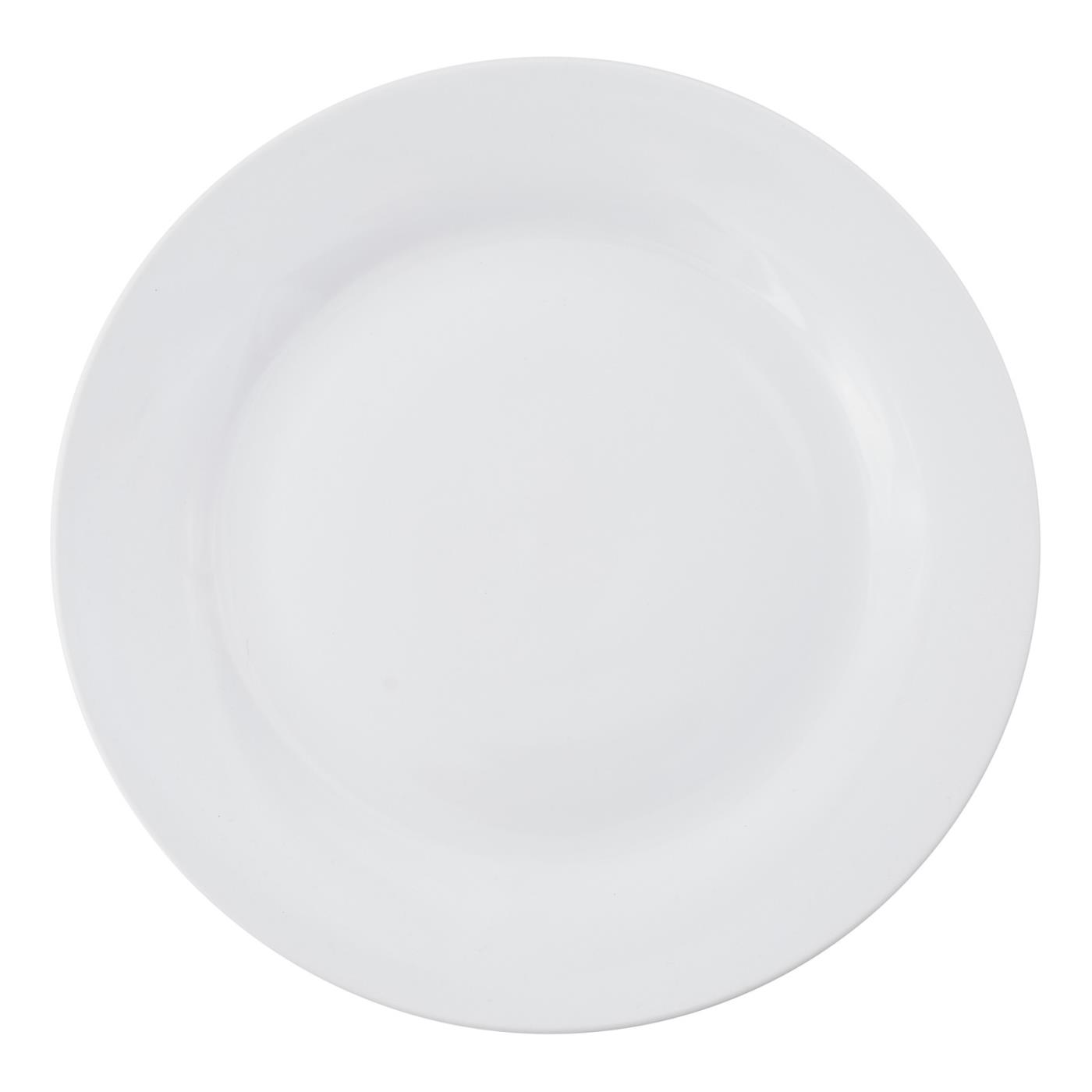White Rim Collection -  Dinner Plate 10.5""