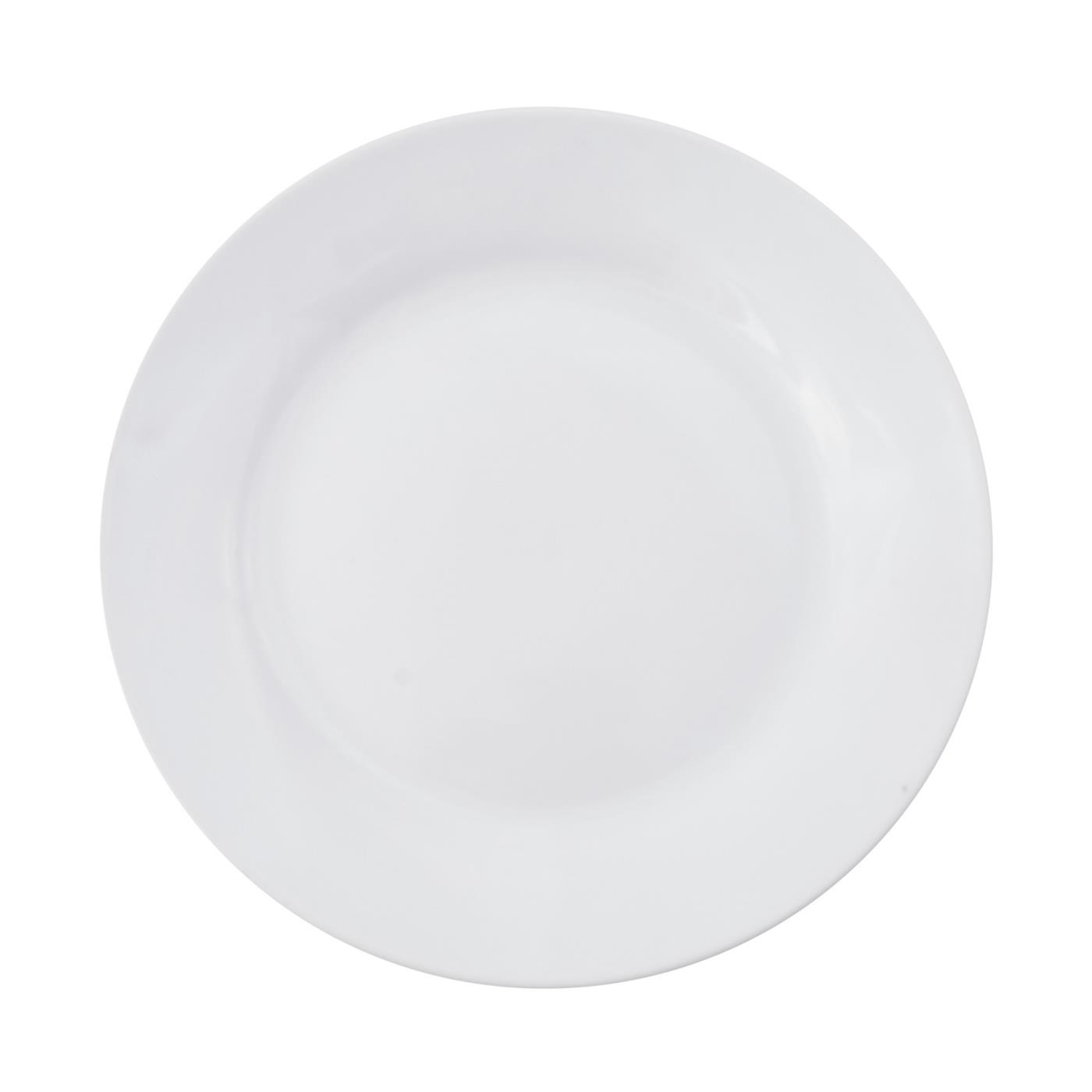 White Rim Collection -  Salad Plate 8""