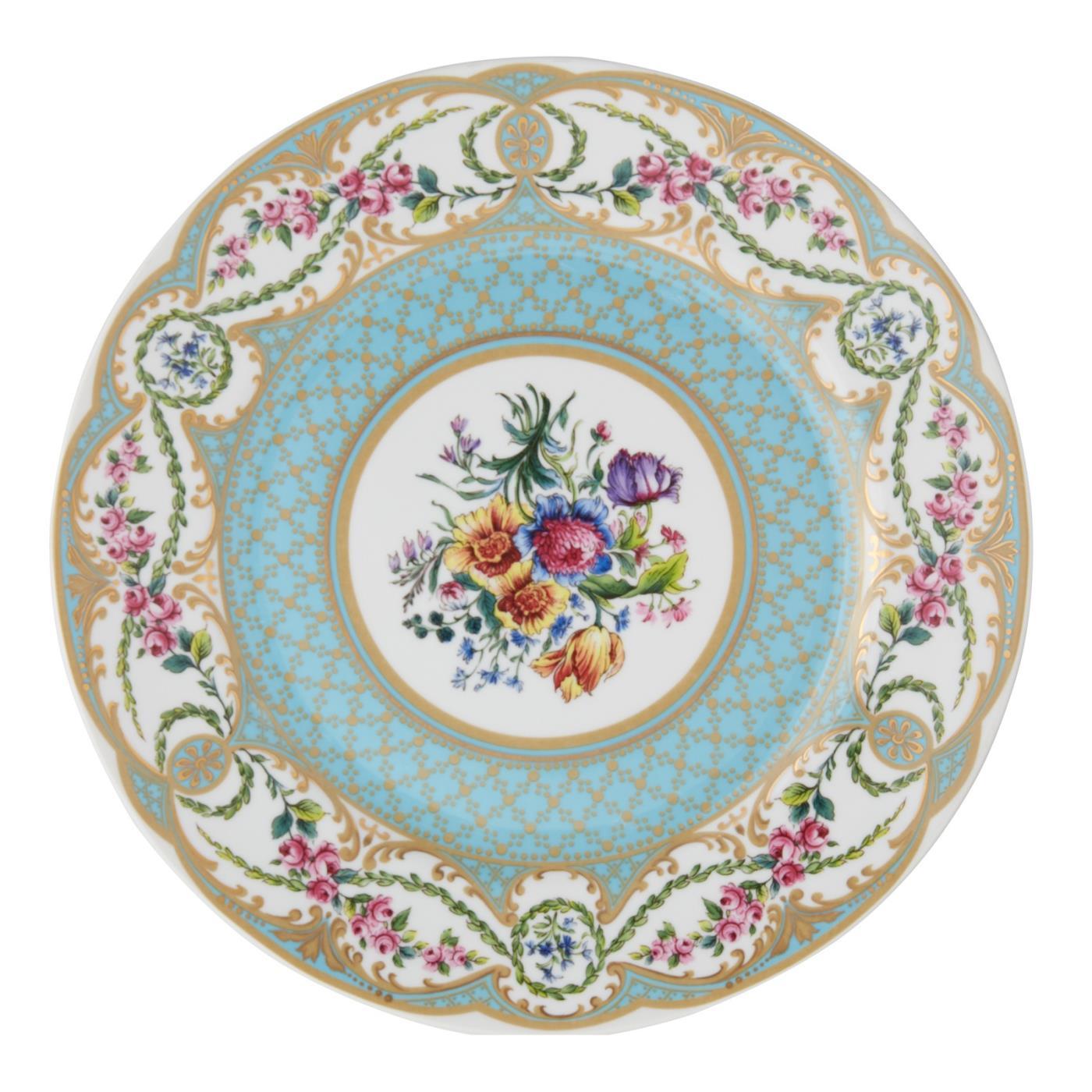 """Sevre Dinner Plate 10.5"""" - Blue"""