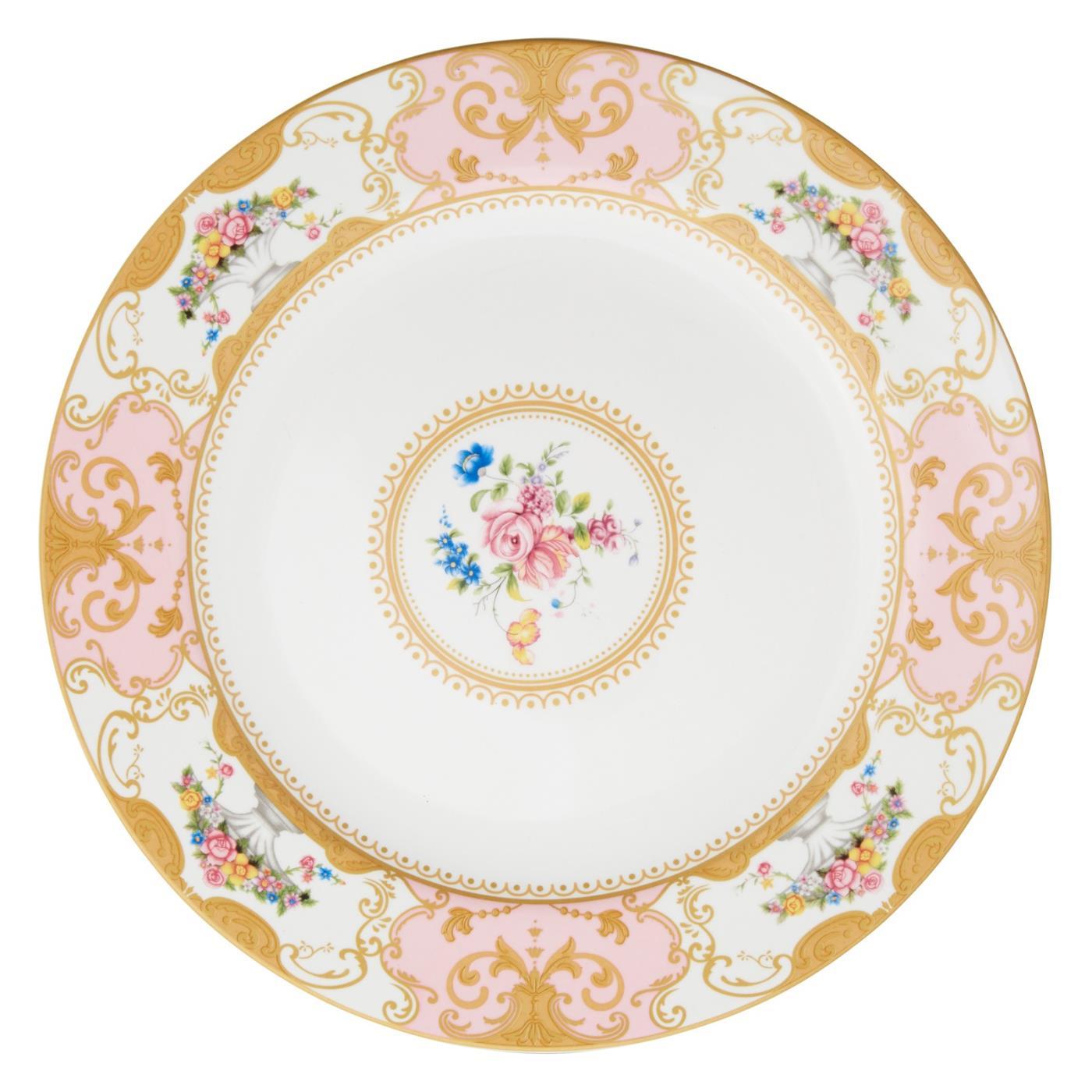 """Sevre Dinner Plate 10.5"""" - Salmon"""