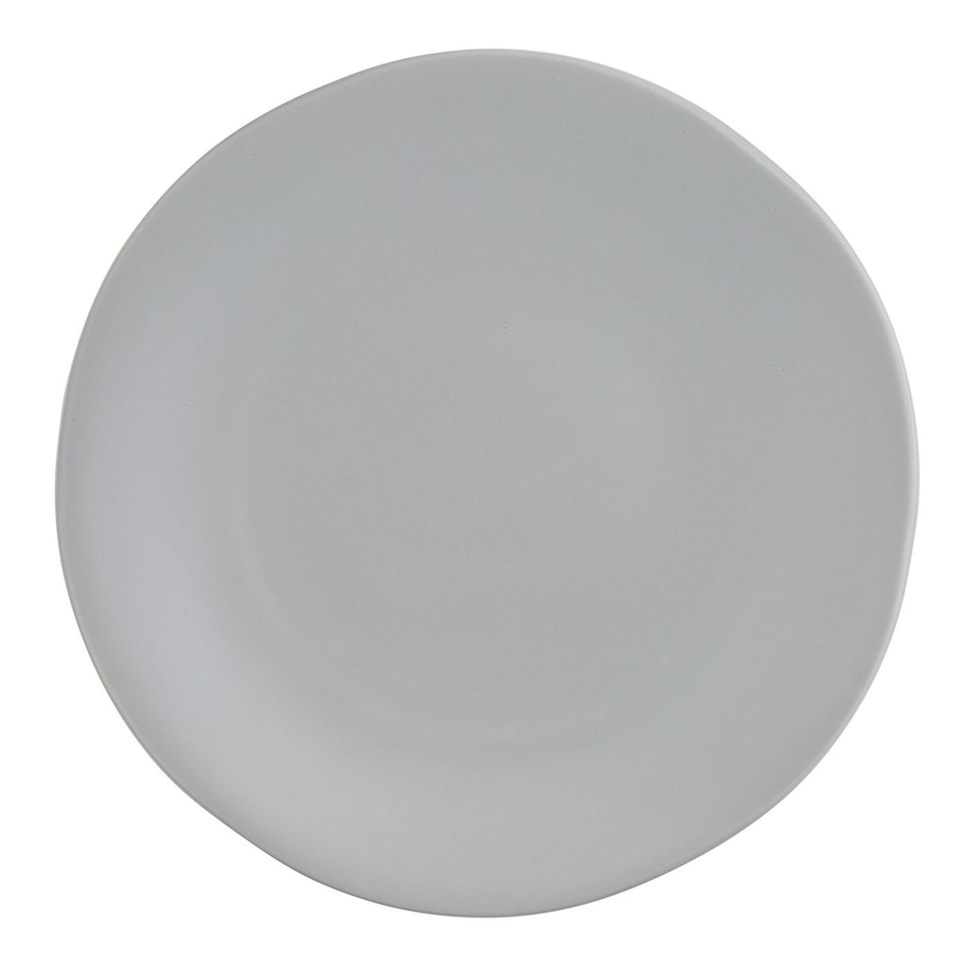 "Terra Dinner Plate 10.75"" - Grey"