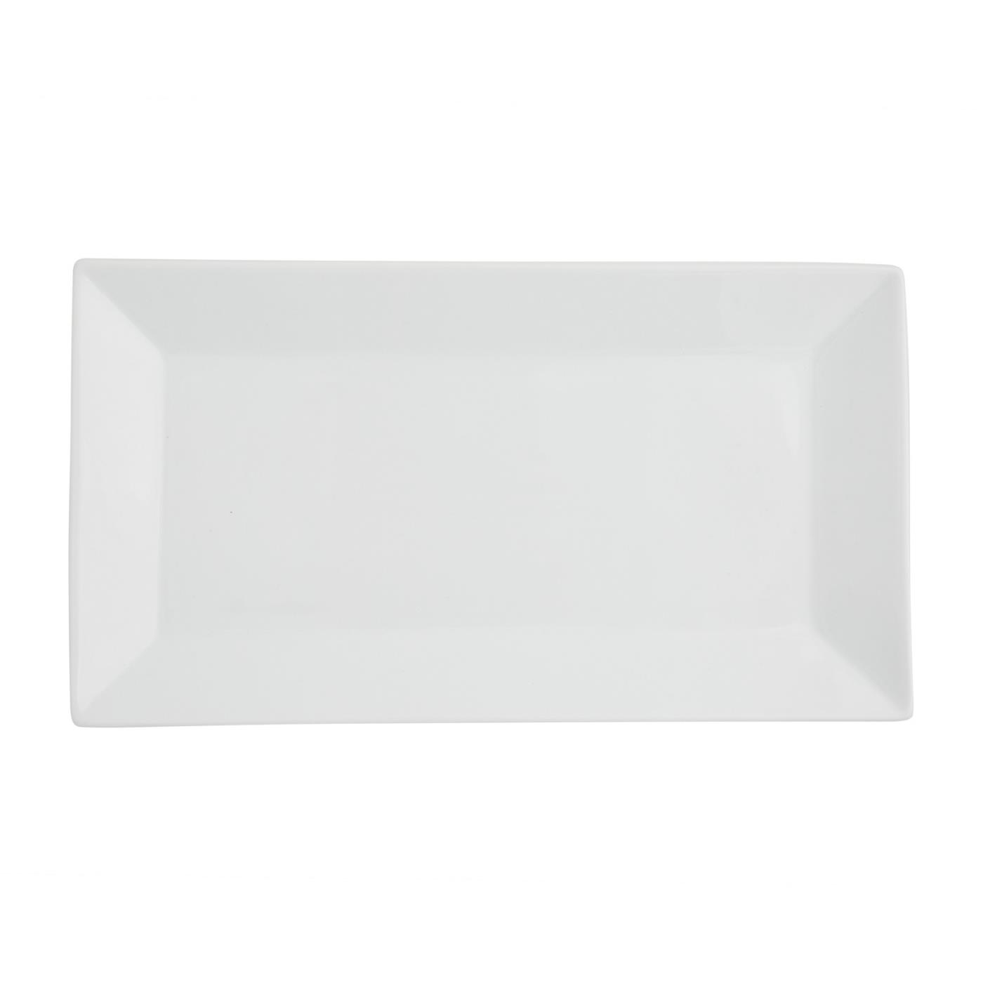 "White Rectangular -  6.25"" x 11.5"""