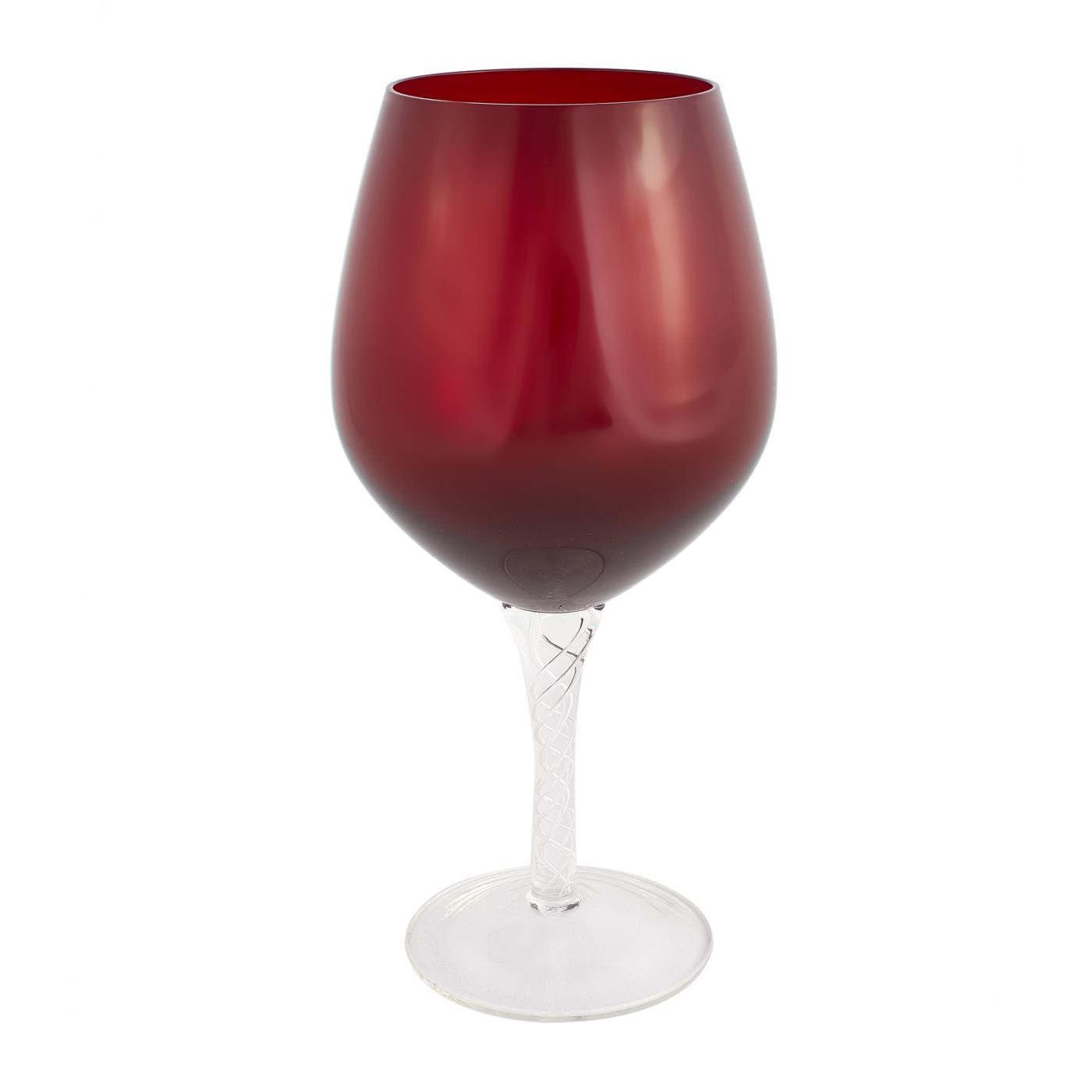 Braided Goblet - Red 20 oz