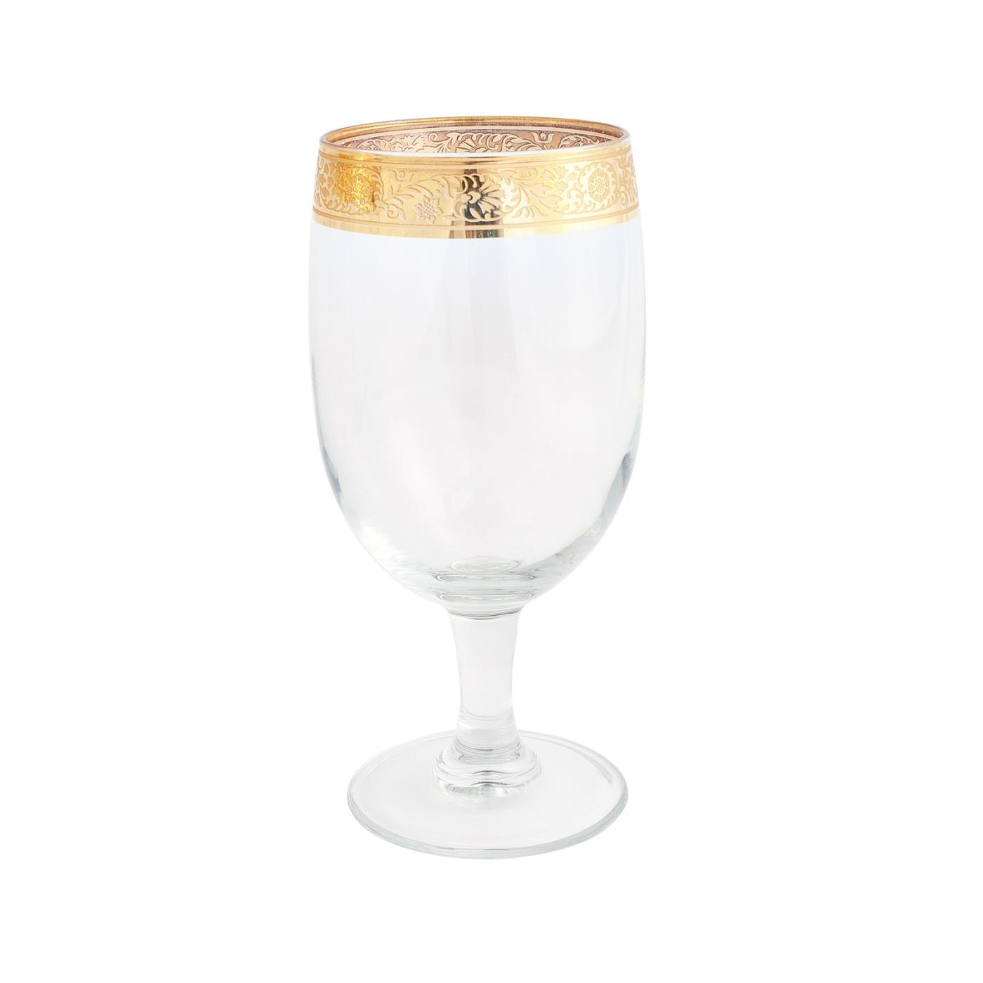 Gold Rim Collection -  AP Glass 16 oz