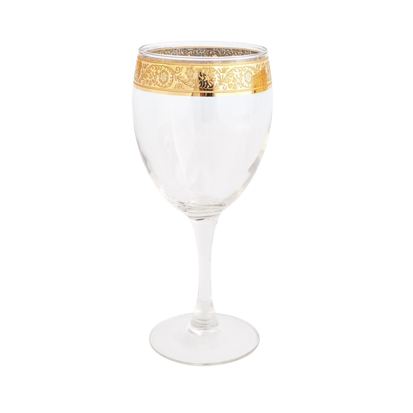 Gold Rim Collection -  Wine Glass 13 oz