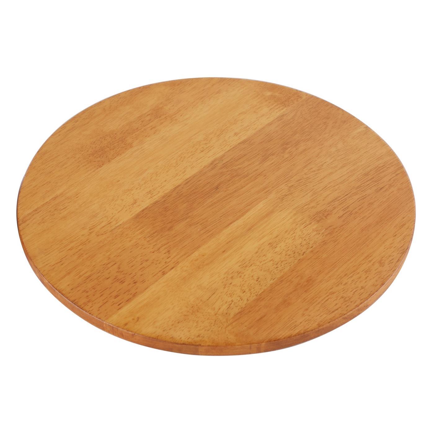 "LACS Round Platform - Wood 14"""