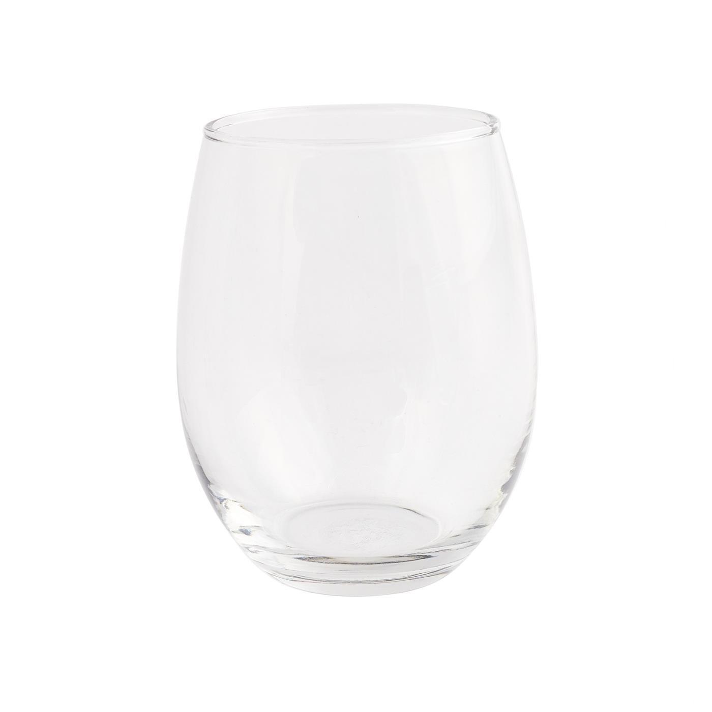 Stemless Wine Glass - 15 oz