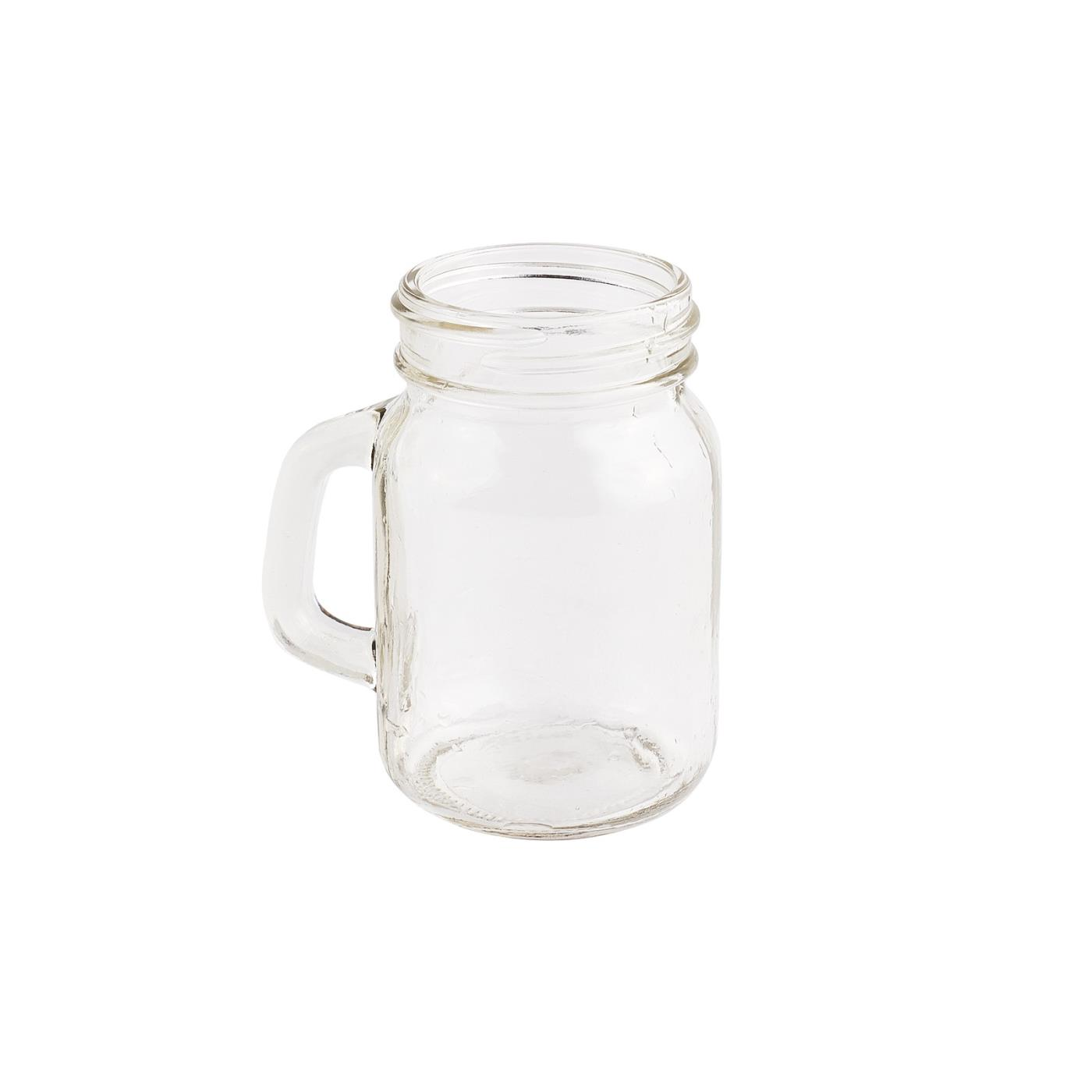 Mini Mason Jar with Handle