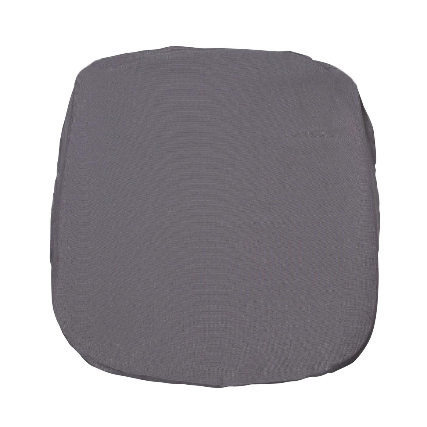 Poly Seat Cushion - Charcoal