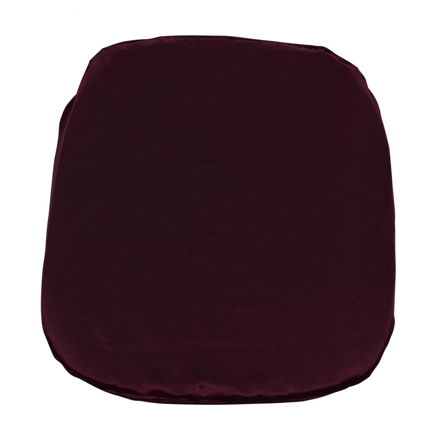 Bengaline Seat Cushion - Burgundy