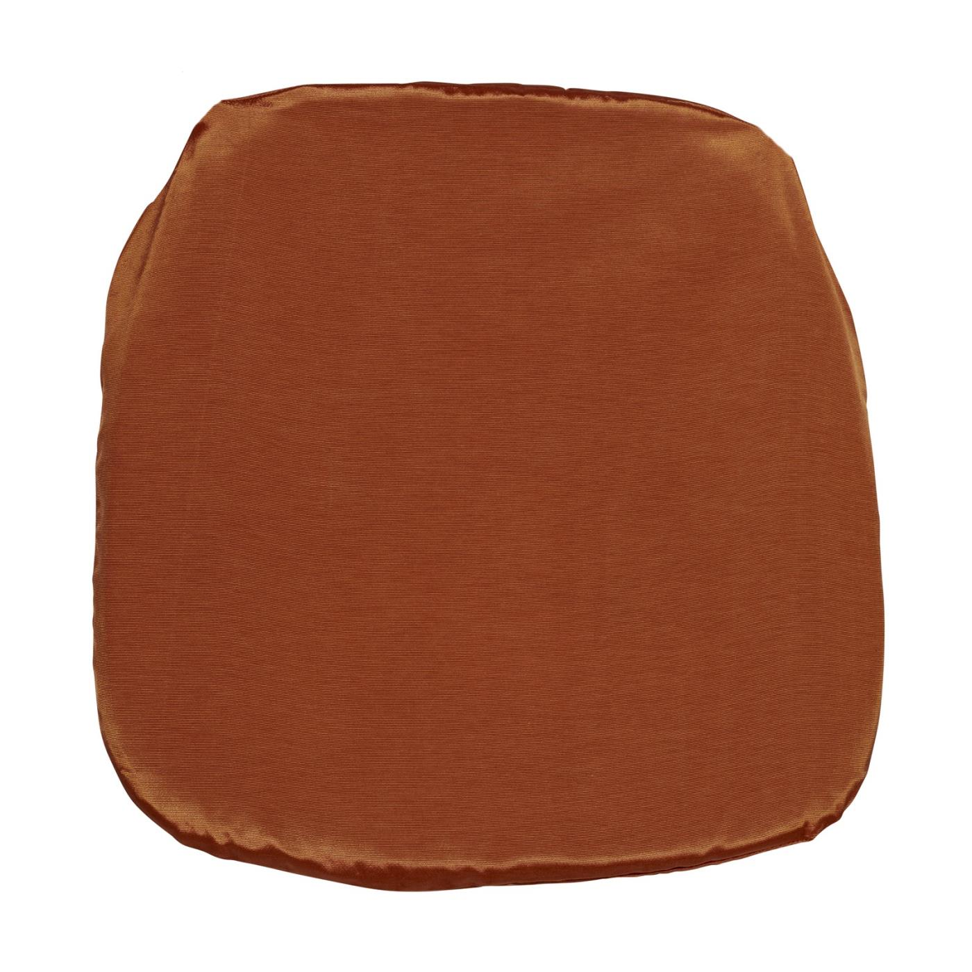 Bengaline Seat Cushion - Burnt Orange