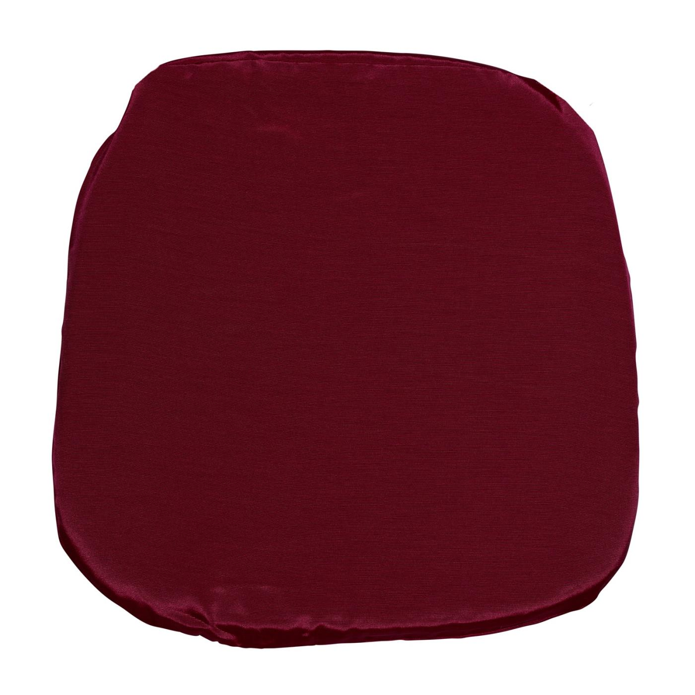 Bengaline Seat Cushion - Cranberry