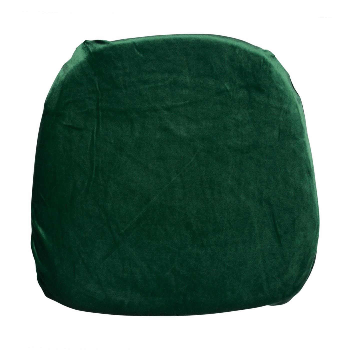 Velvet Seat Cushion - Hunter