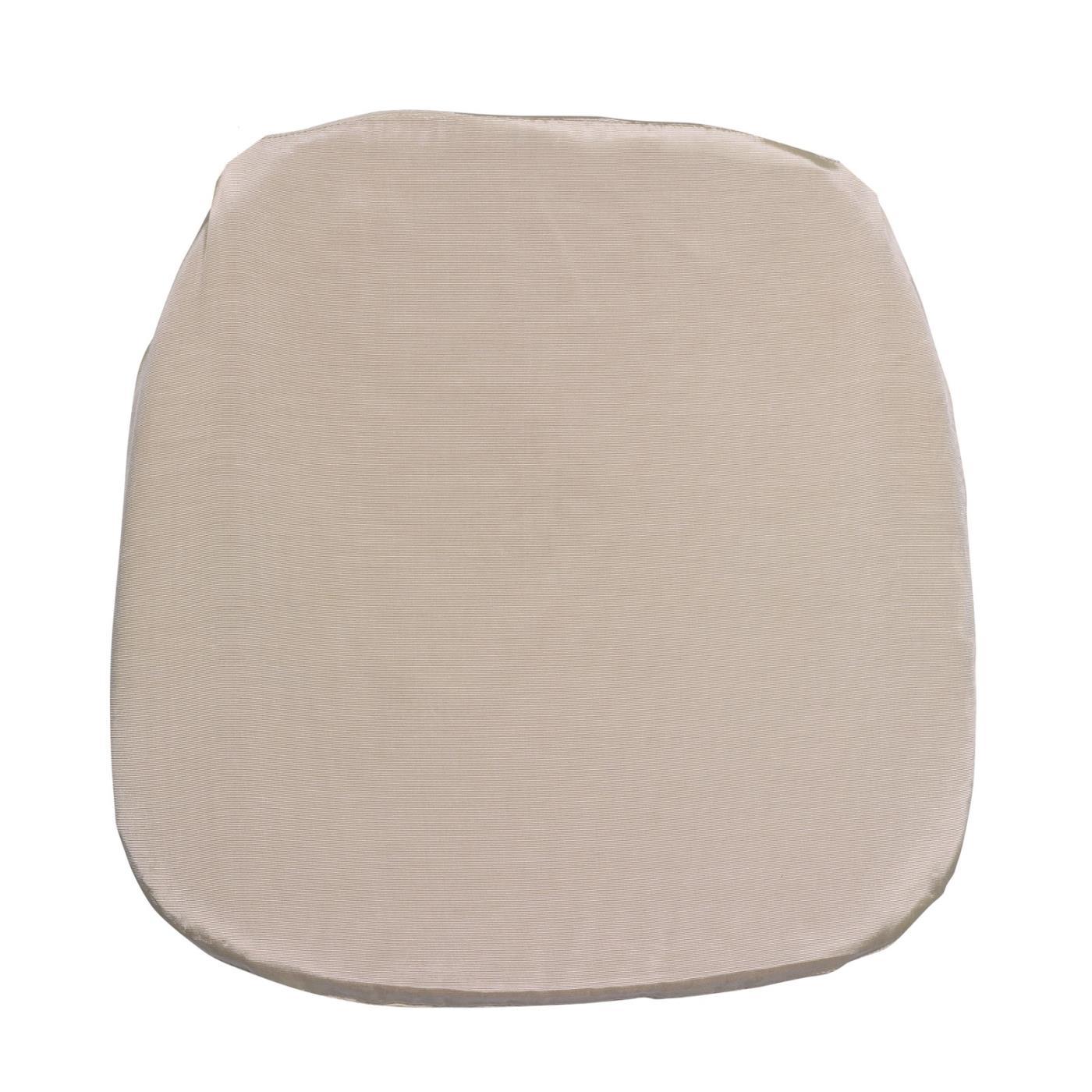 Bengaline Seat Cushion - Ivory