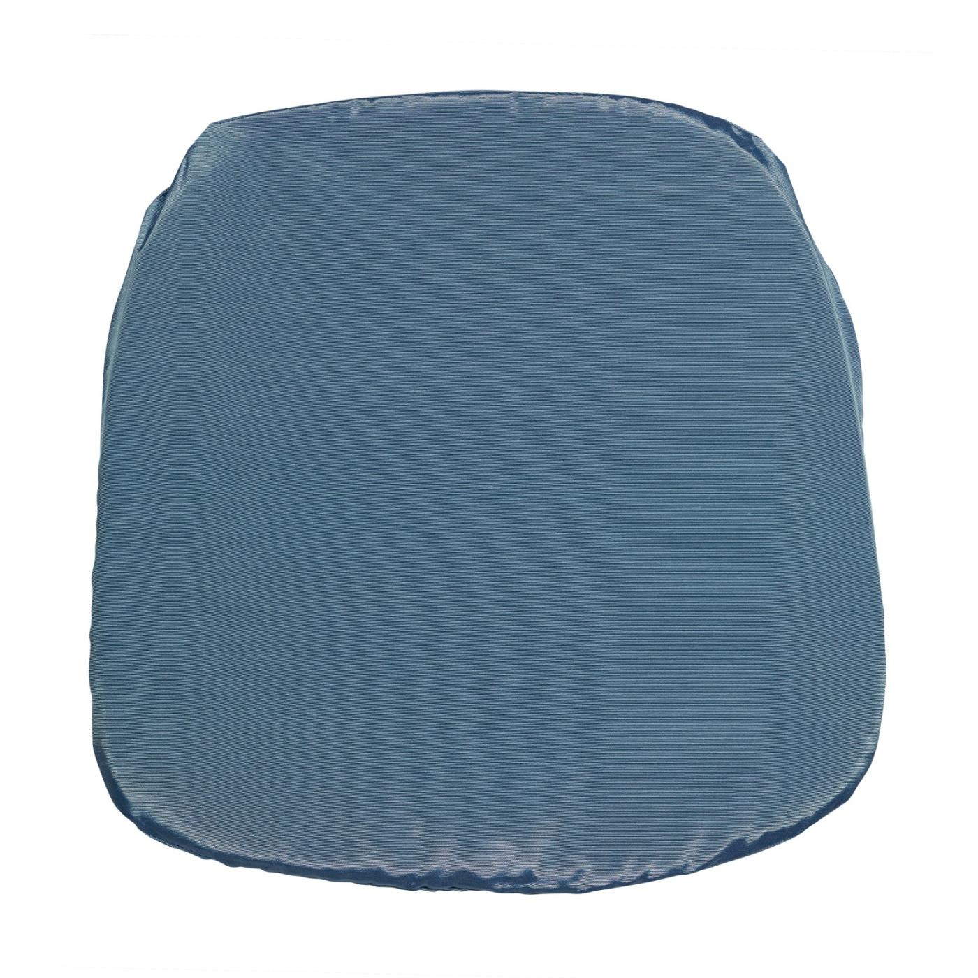 Bengaline Seat Cushion - Ocean Blue