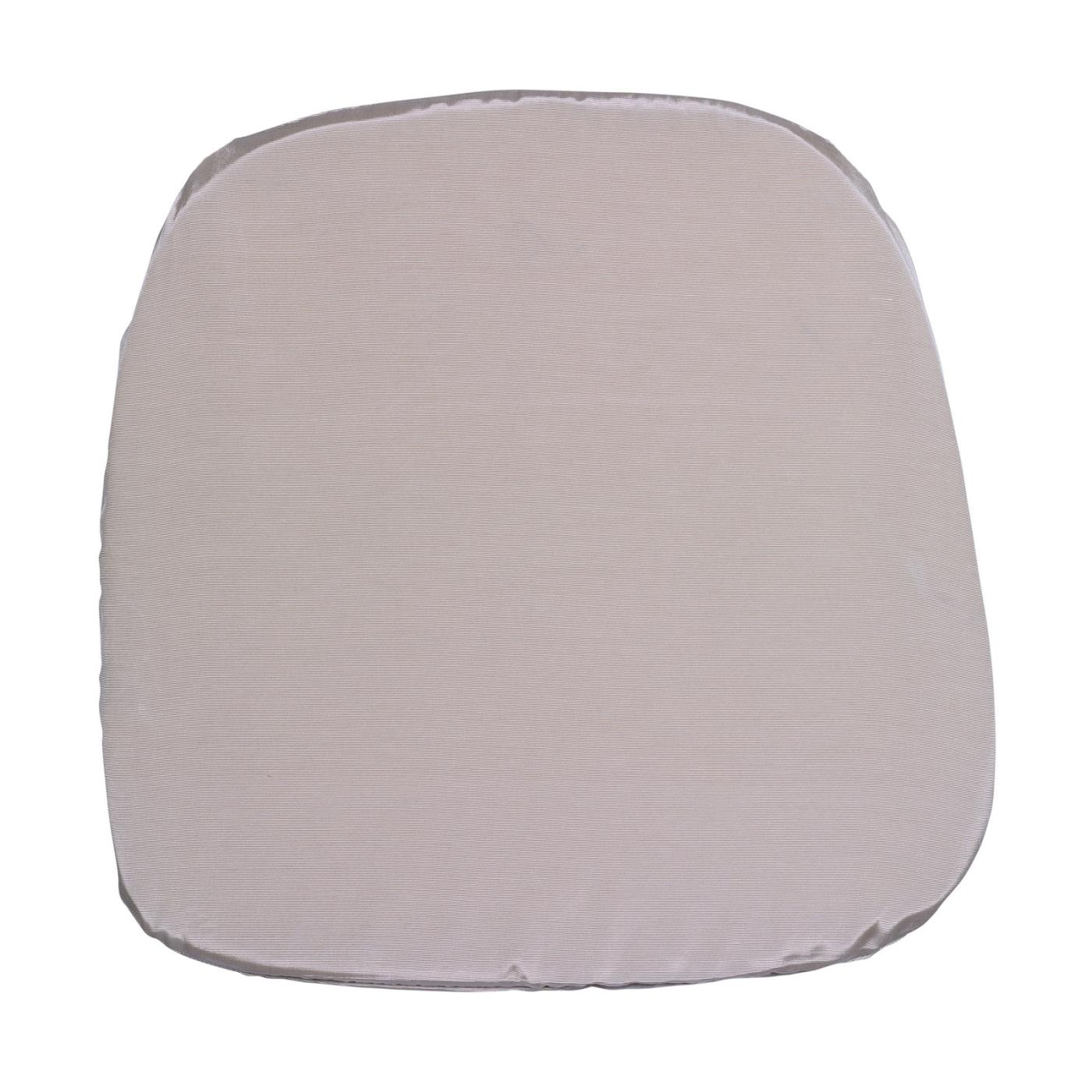 Bengaline Seat Cushion - Pearl Grey