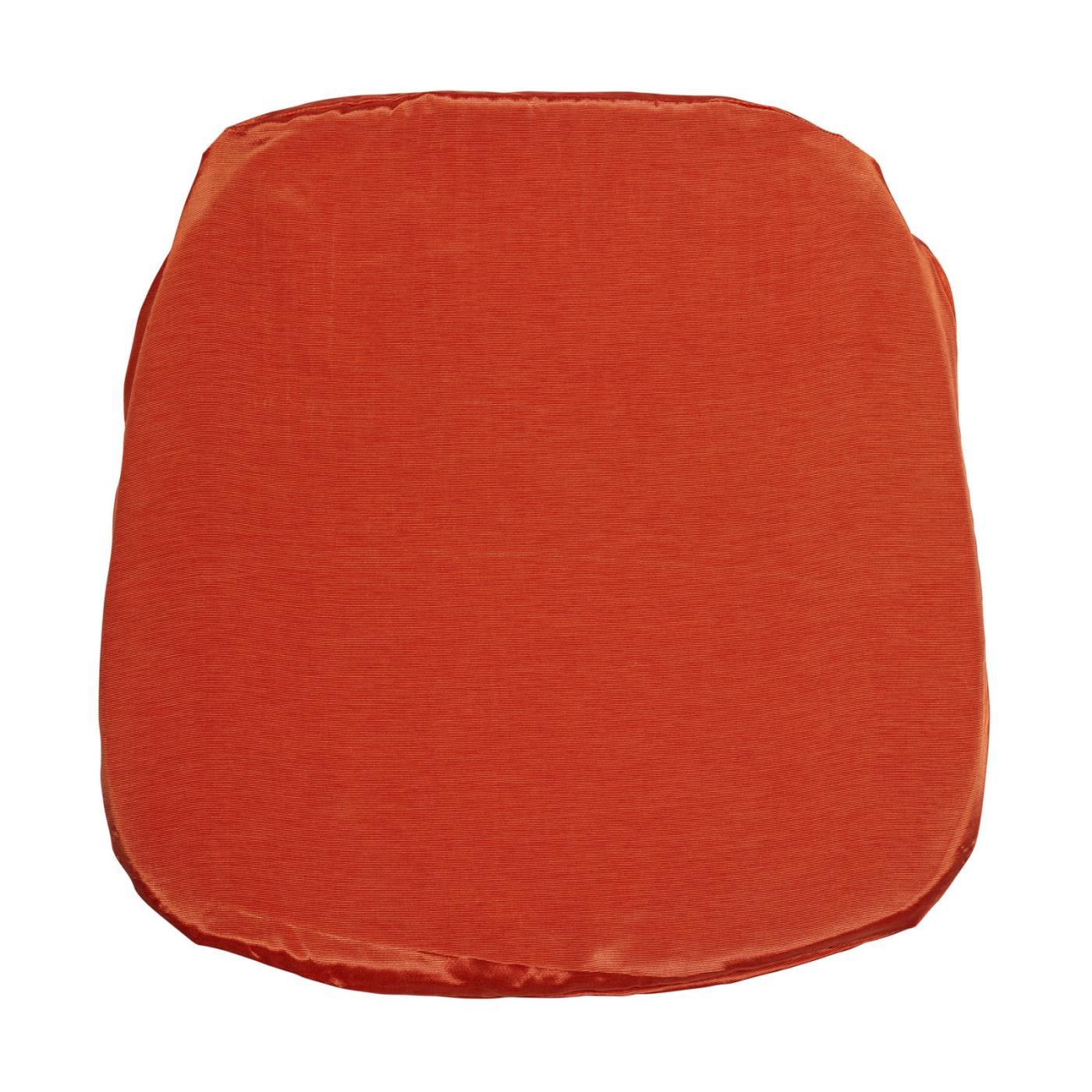Bengaline Seat Cushion - Tangerine