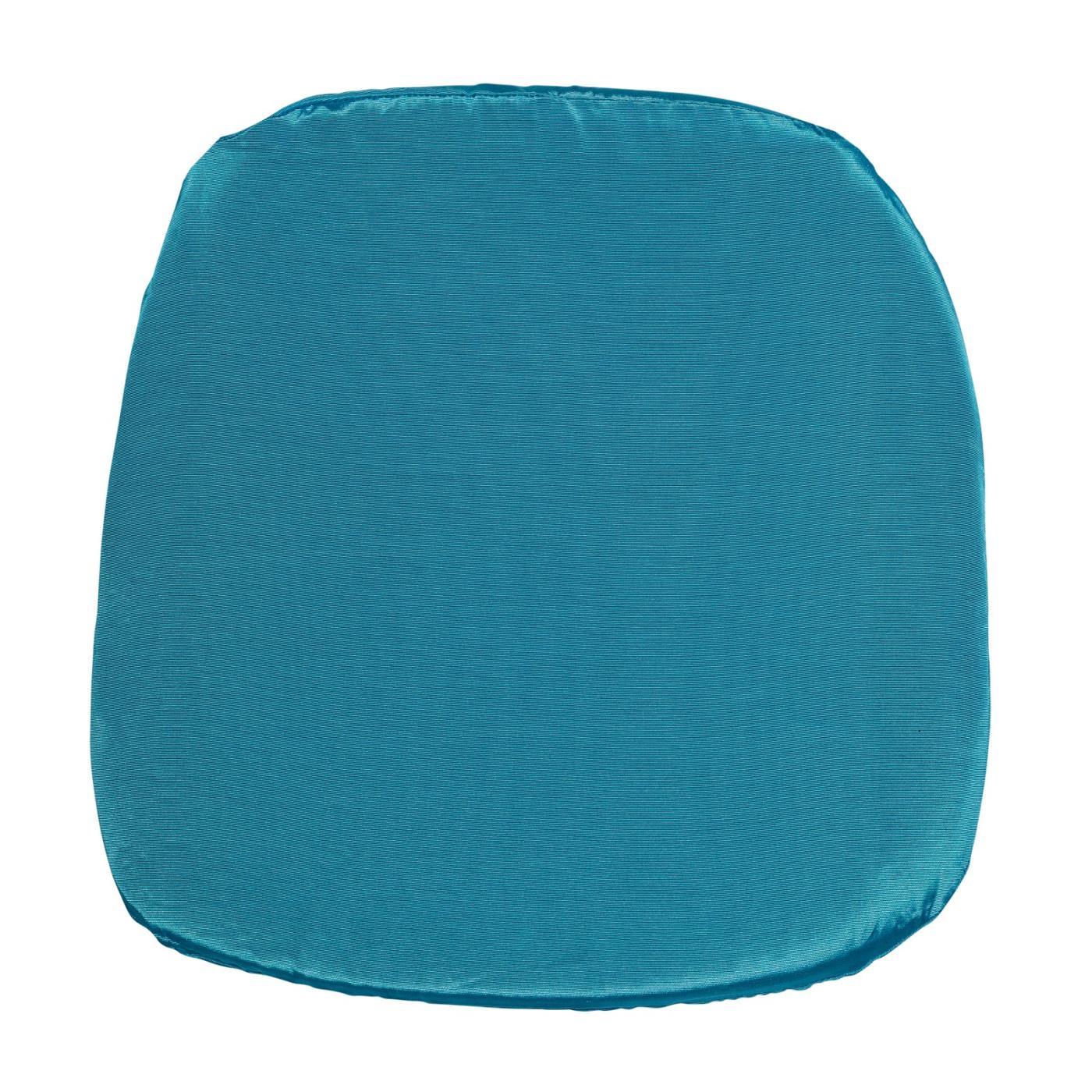 Bengaline Seat Cushion - Turquoise