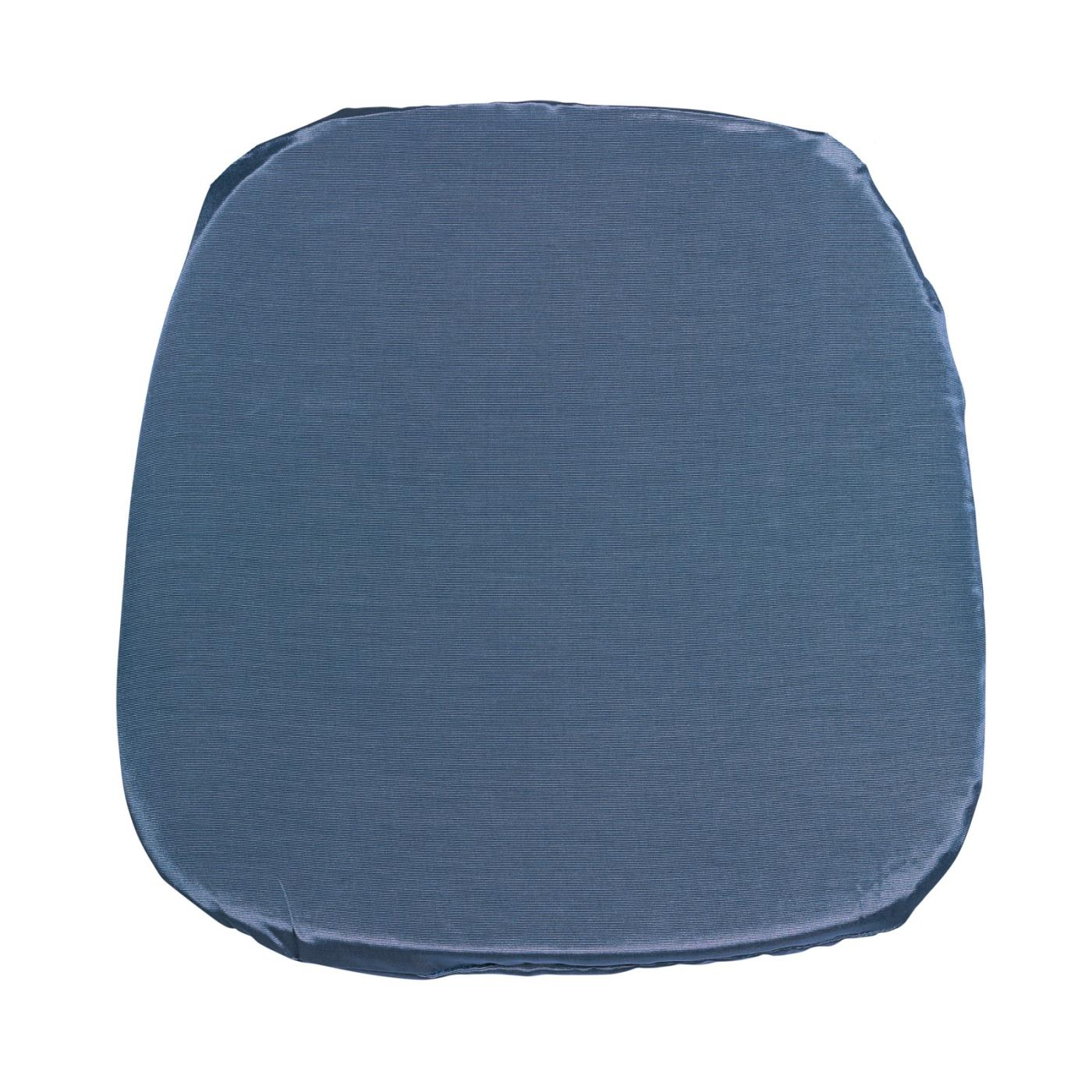 Bengaline Seat Cushion - Wedgewood Blue