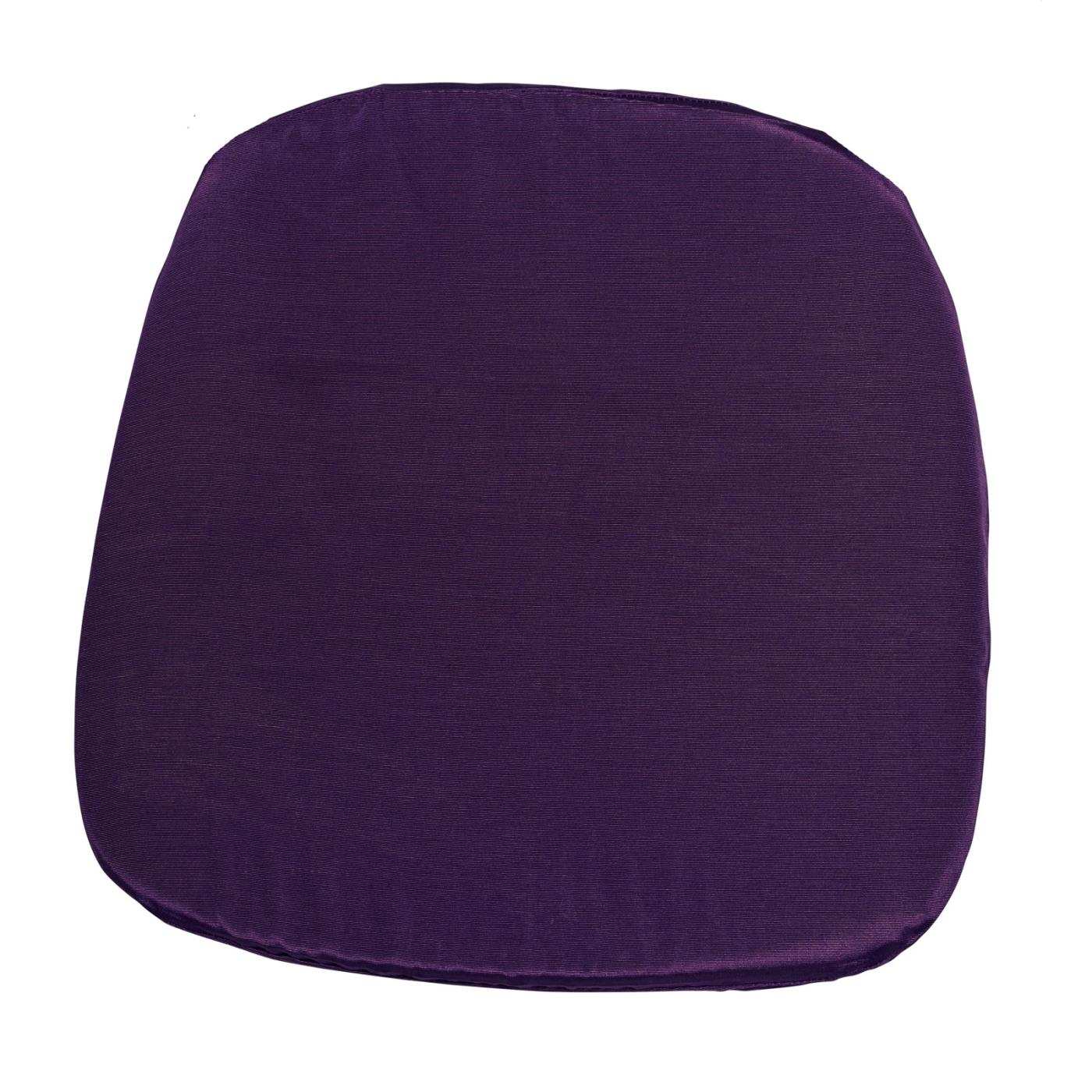 Bengaline Seat Cushion - Violet