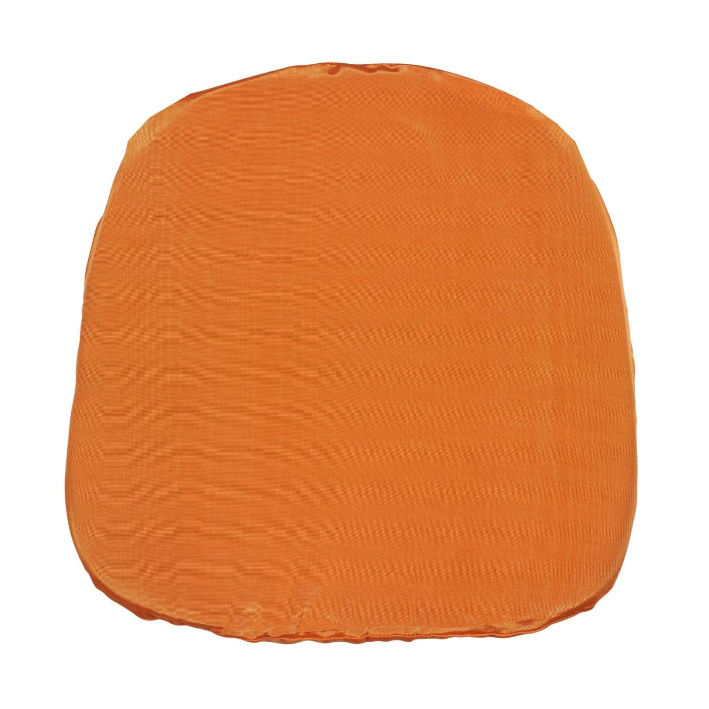 Bengaline Moire Seat Cushion - Mango