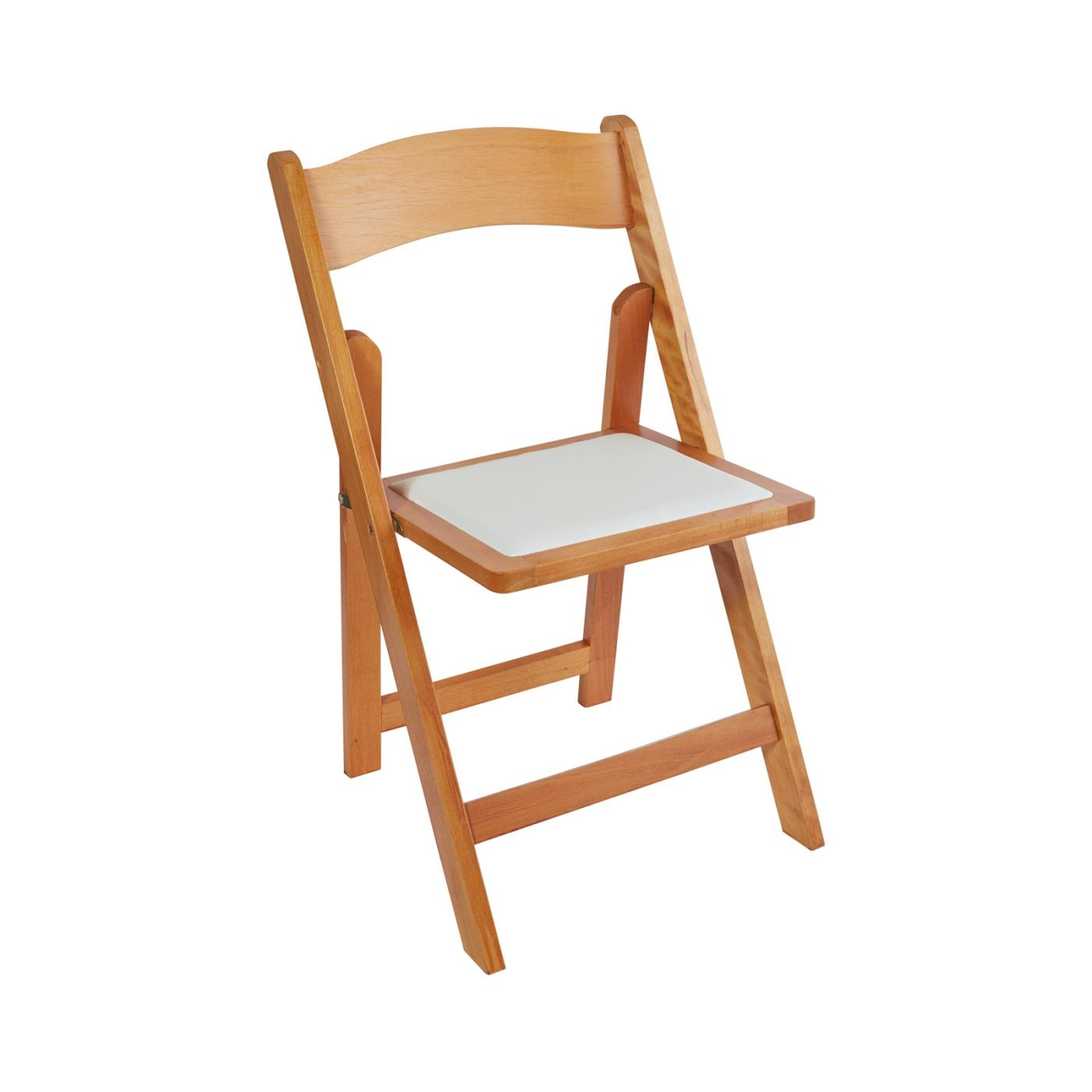 Wood Folding Chair - Natural