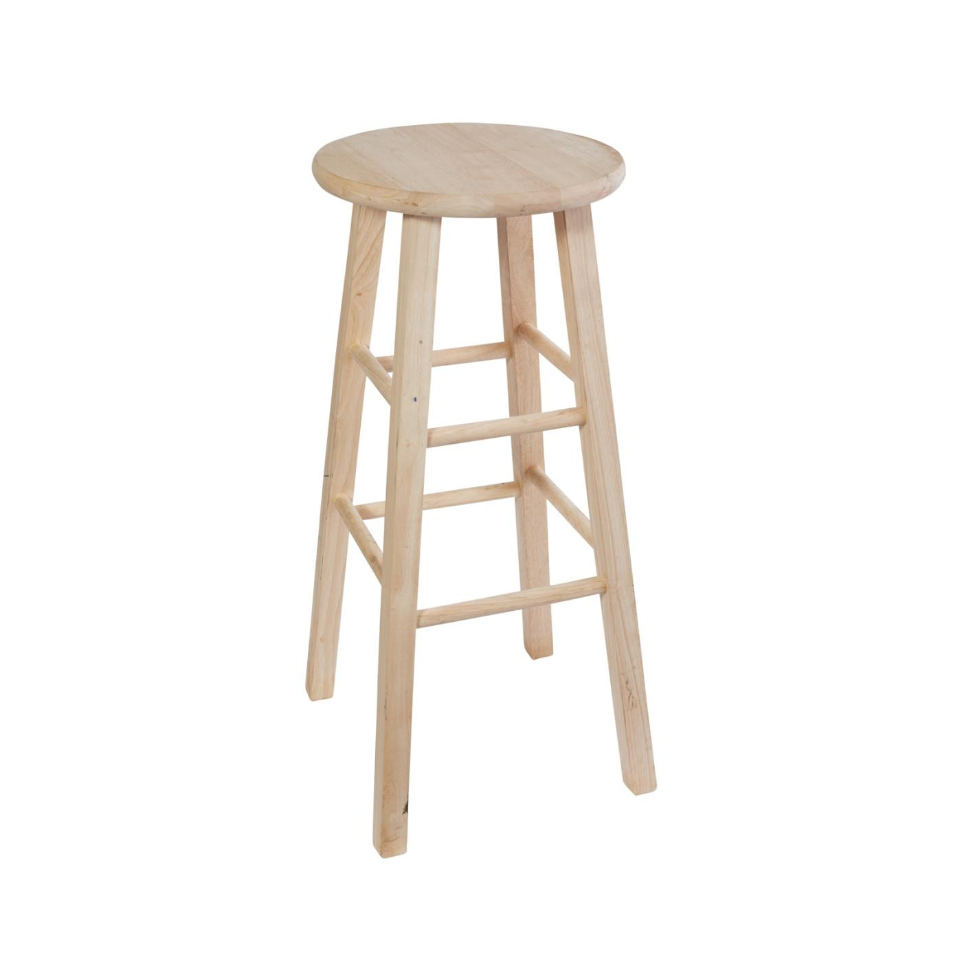 """Backless Stool 30""""H - Raw"""