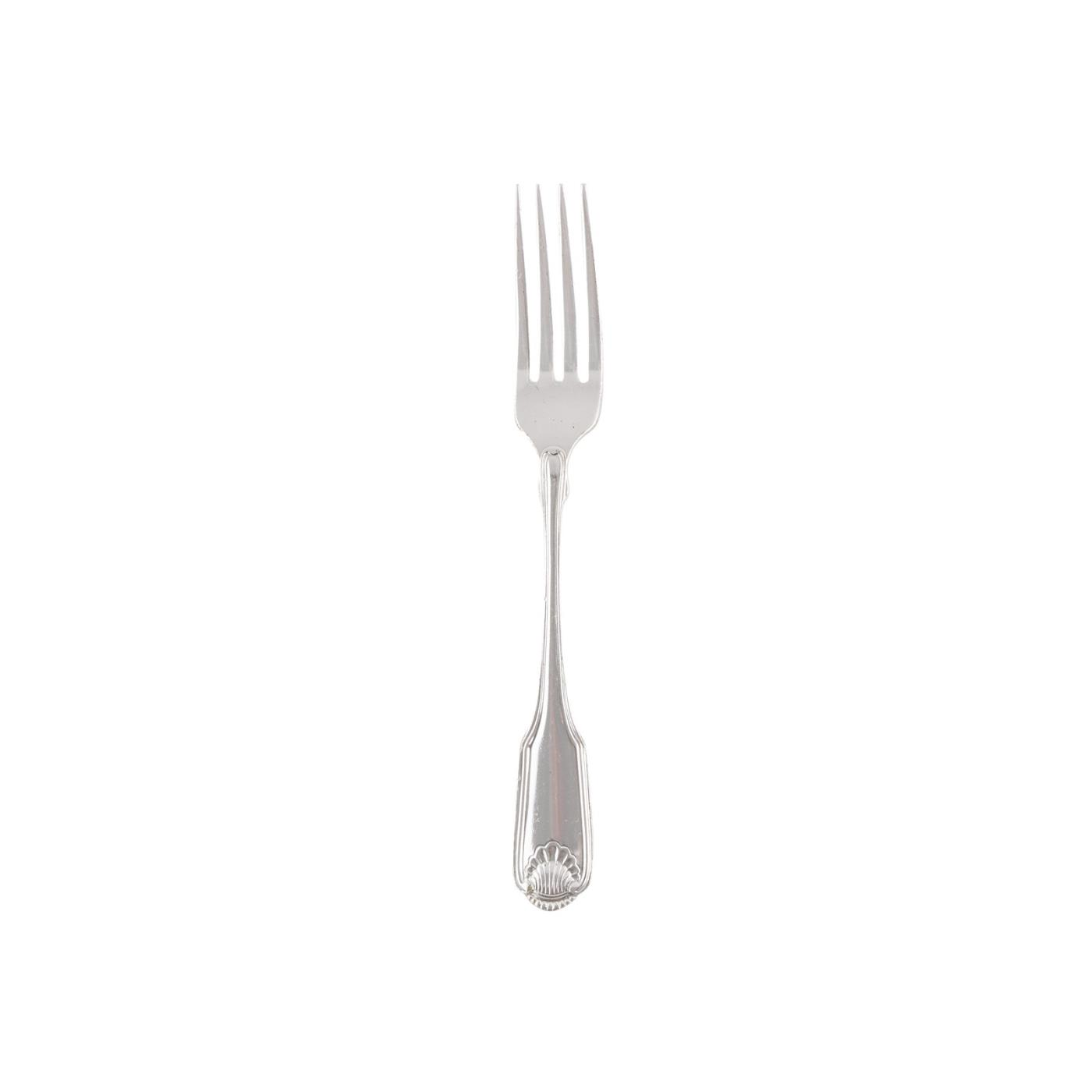 Silvershell Collection -  Dinner Fork