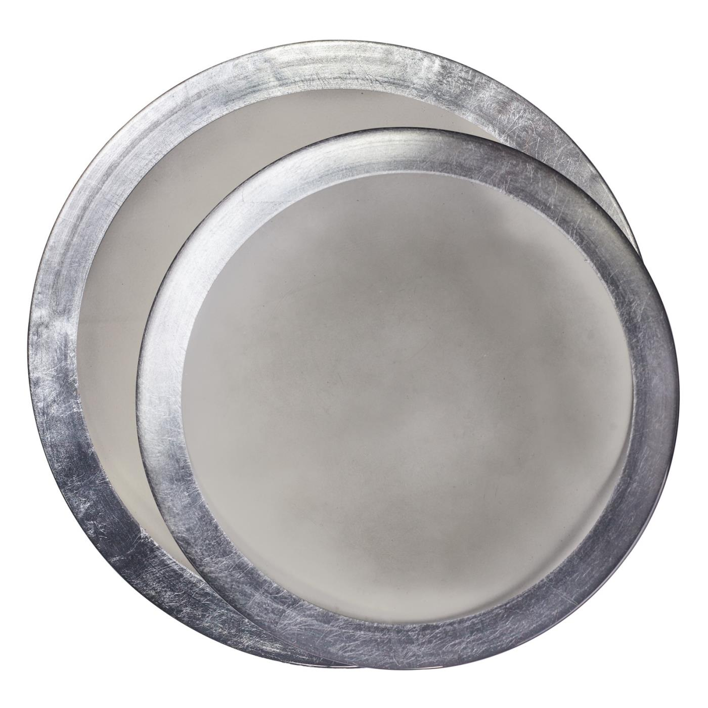 Smoked Luster Glass Charger
