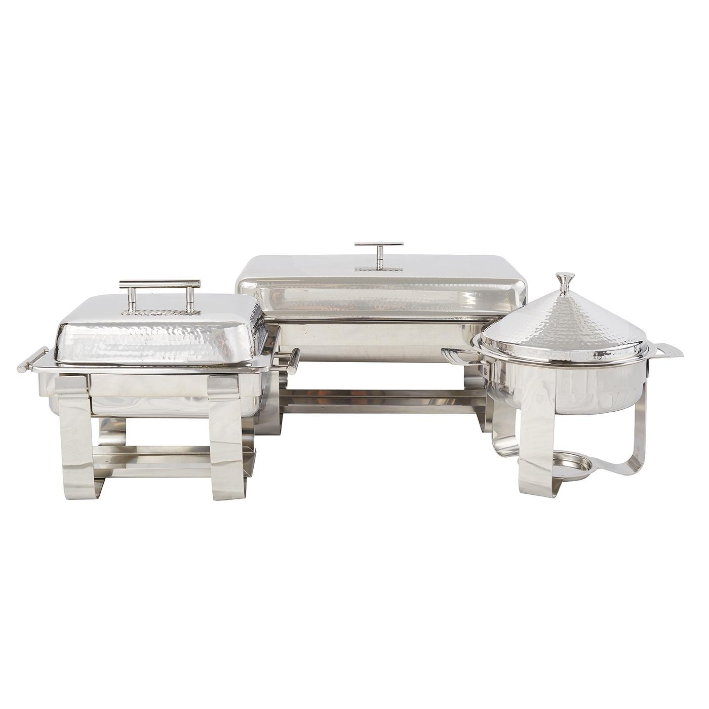 Stainless Steel Hammered Chafer