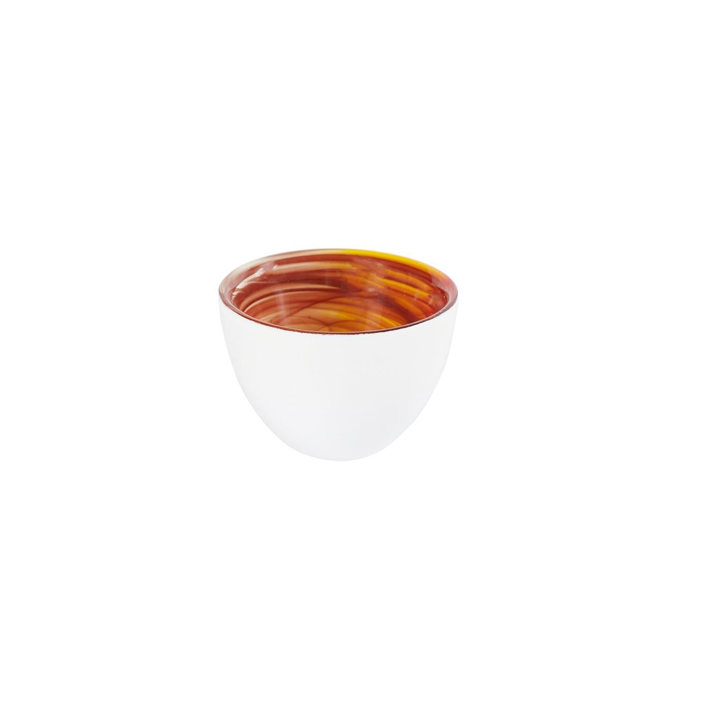 "Glass Inferno Bowl - 2.75"""