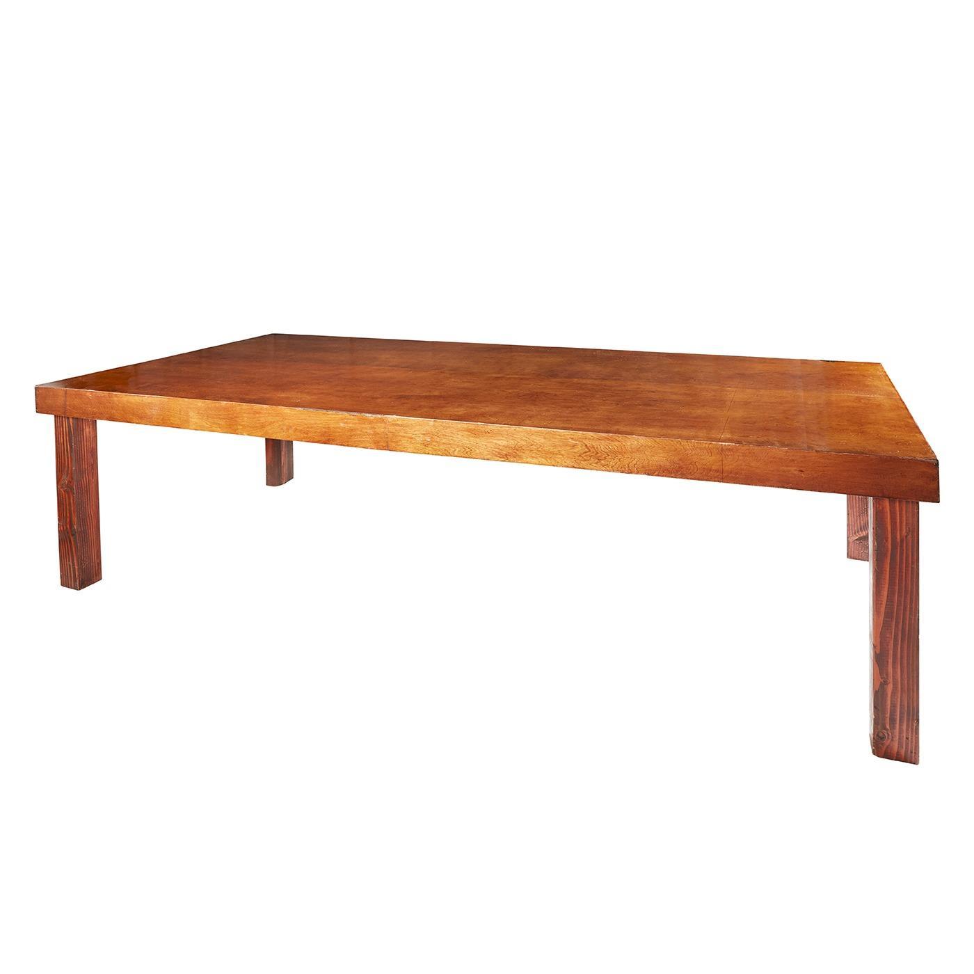"Mahogany Table - 8'L x 48""W x 30""H"