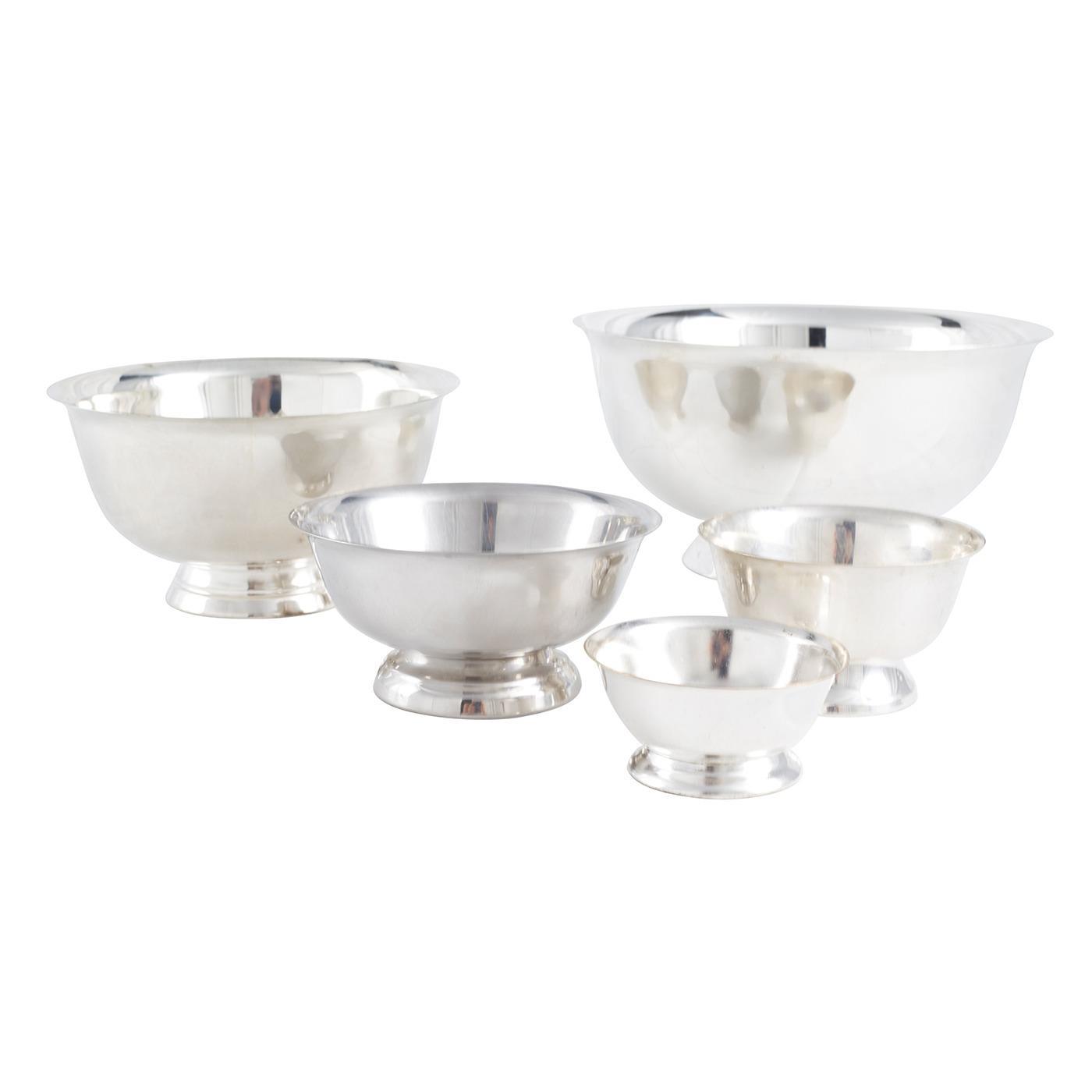 Silver Round Revere Bowl